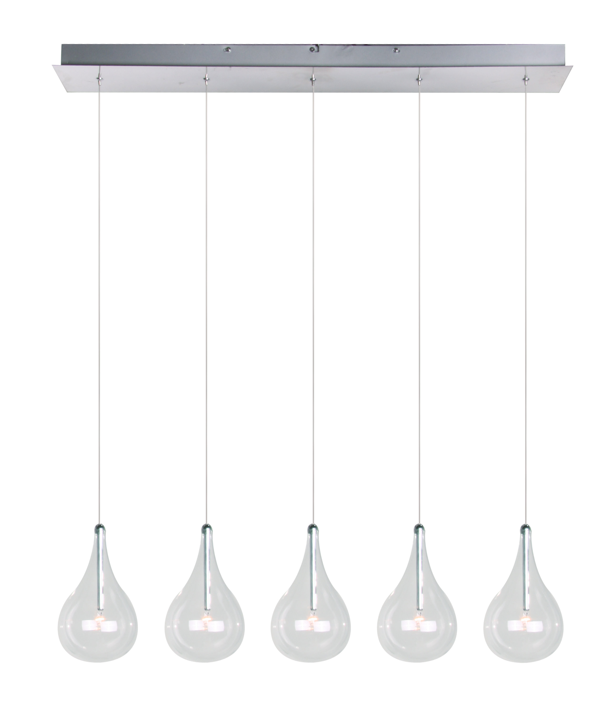 Neal 5 Light Kitchen Island Teardrop Pendant Pertaining To Well Liked Neal 5 Light Kitchen Island Teardrop Pendants (View 7 of 20)