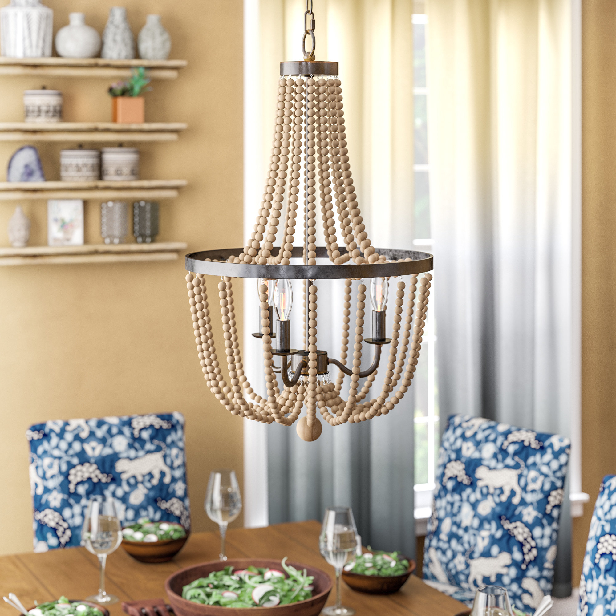 Nehemiah 3 Light Empire Chandeliers With Latest Nehemiah 3 Light Empire Chandelier (View 11 of 20)