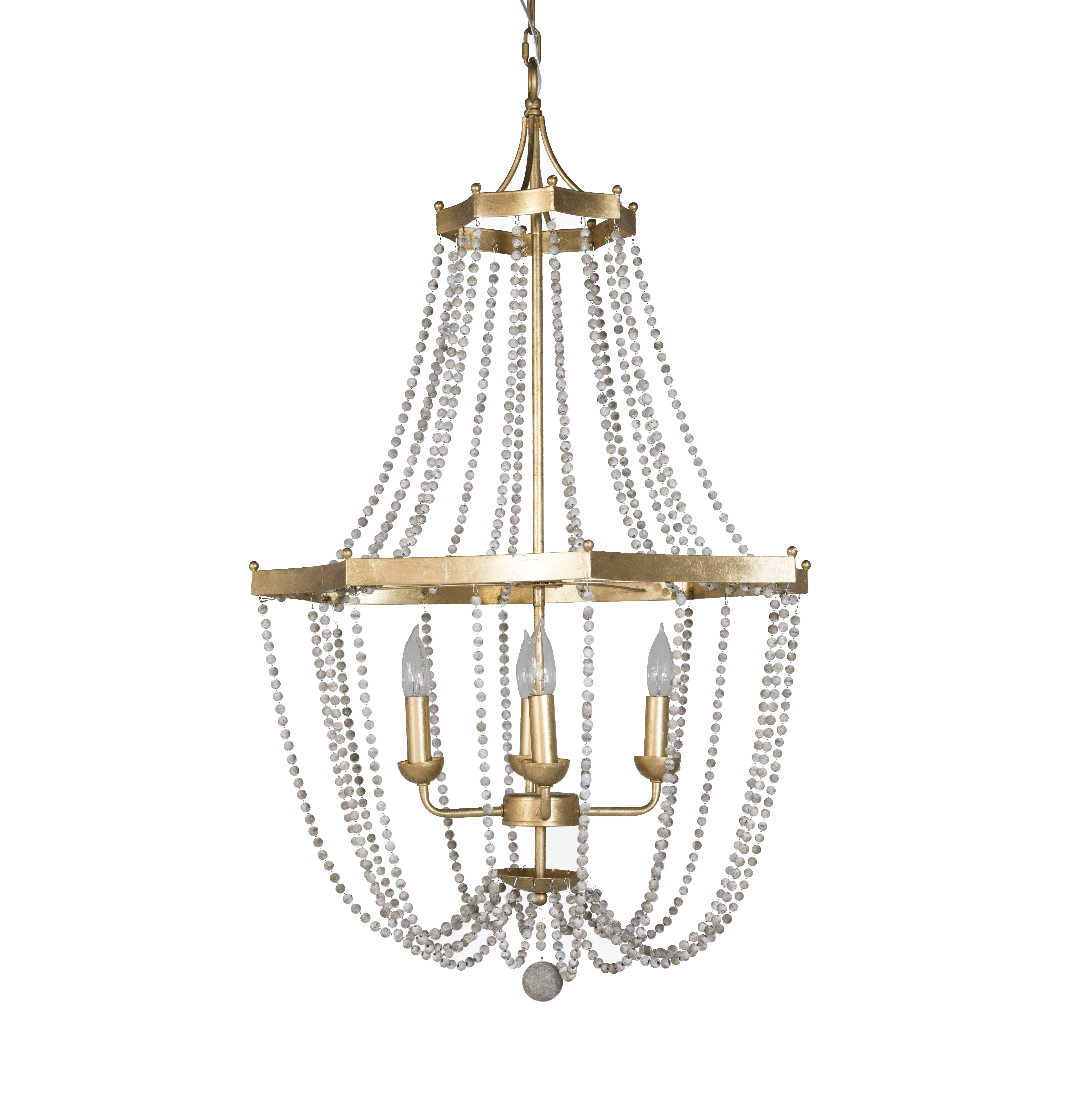 Nehemiah 3 Light Empire Chandeliers With Preferred Whitney 4 Light Empire Chandelier (Gallery 9 of 20)