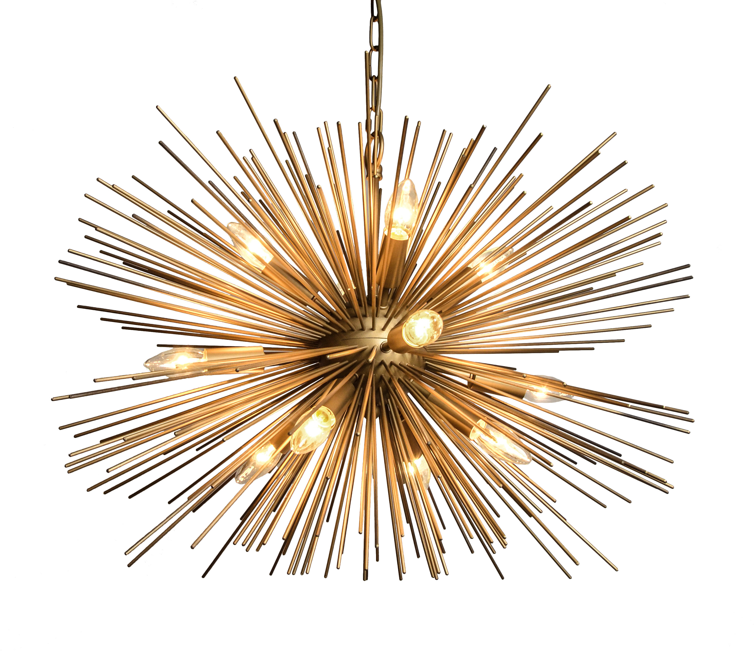 Nelly 12 Light Sputnik Chandeliers With Newest Nelly 12 Light Sputnik Chandelier (Gallery 2 of 20)