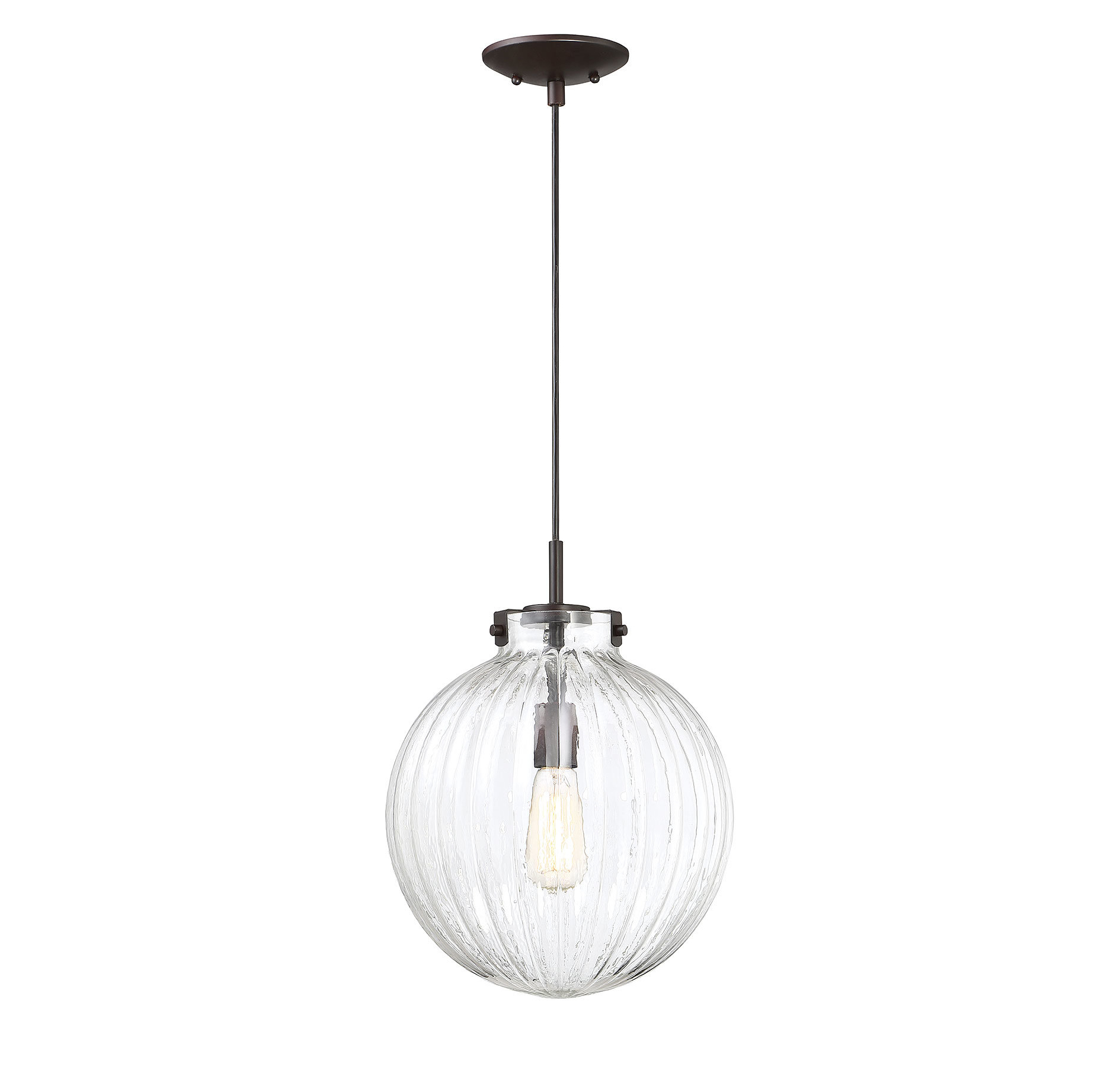 Nevels 1 Light Single Globe Pendant In 2020 Bundy 1 Light Single Globe Pendants (View 15 of 20)