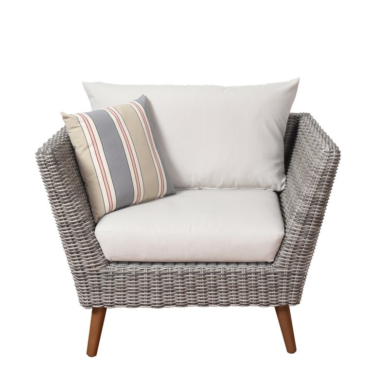 Newbury Patio Sofas With Cushions Throughout Most Current Newbury Patio Chair With Cushions (View 12 of 20)