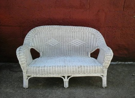 Newest 51 White Wicker Loveseat Measurements, White Wicker Sofa With Wicker Loveseats (View 15 of 20)