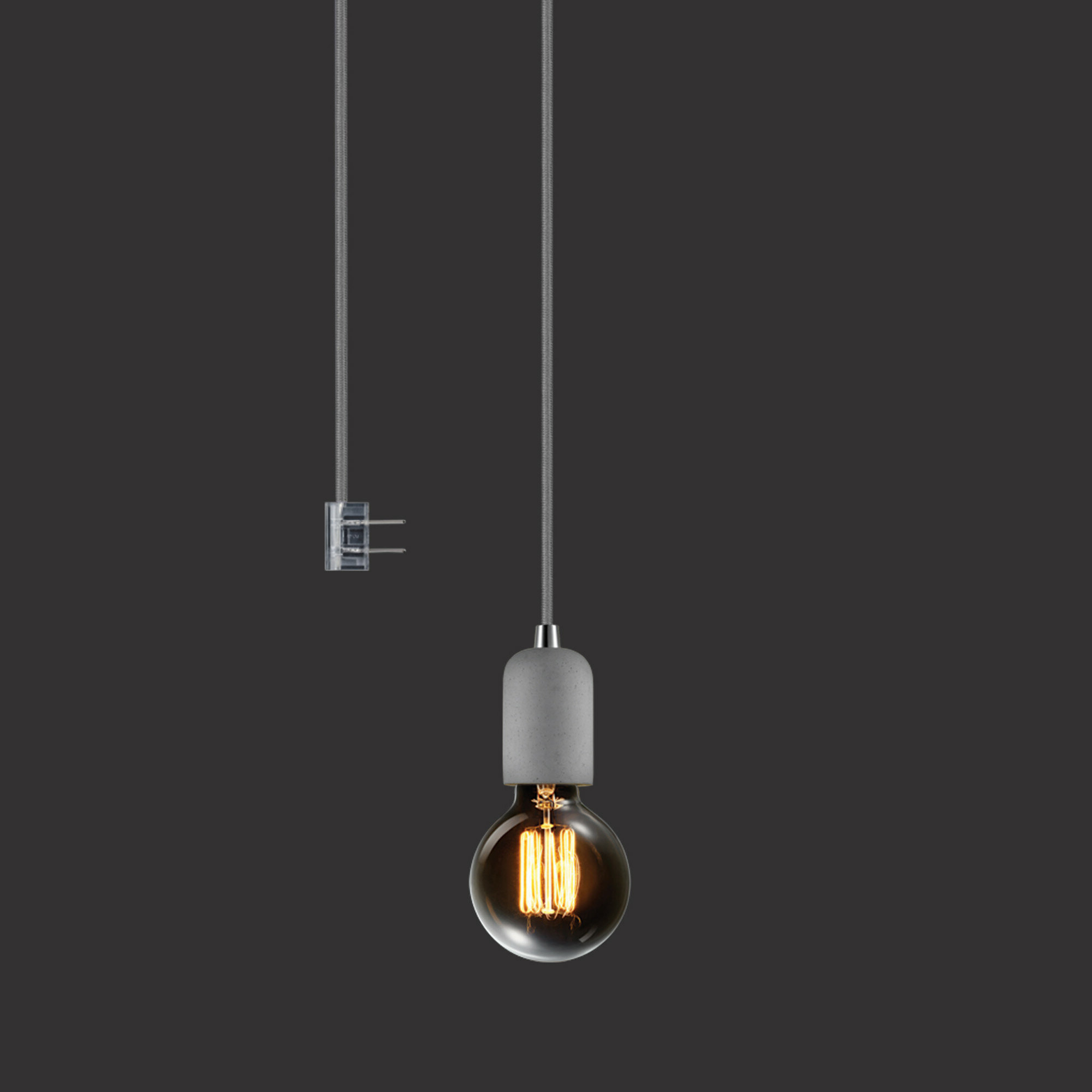 Newest Bryker 1 Light Single Bulb Pendants Pertaining To Clarksdale 1 Light Bulb Pendant (View 14 of 20)