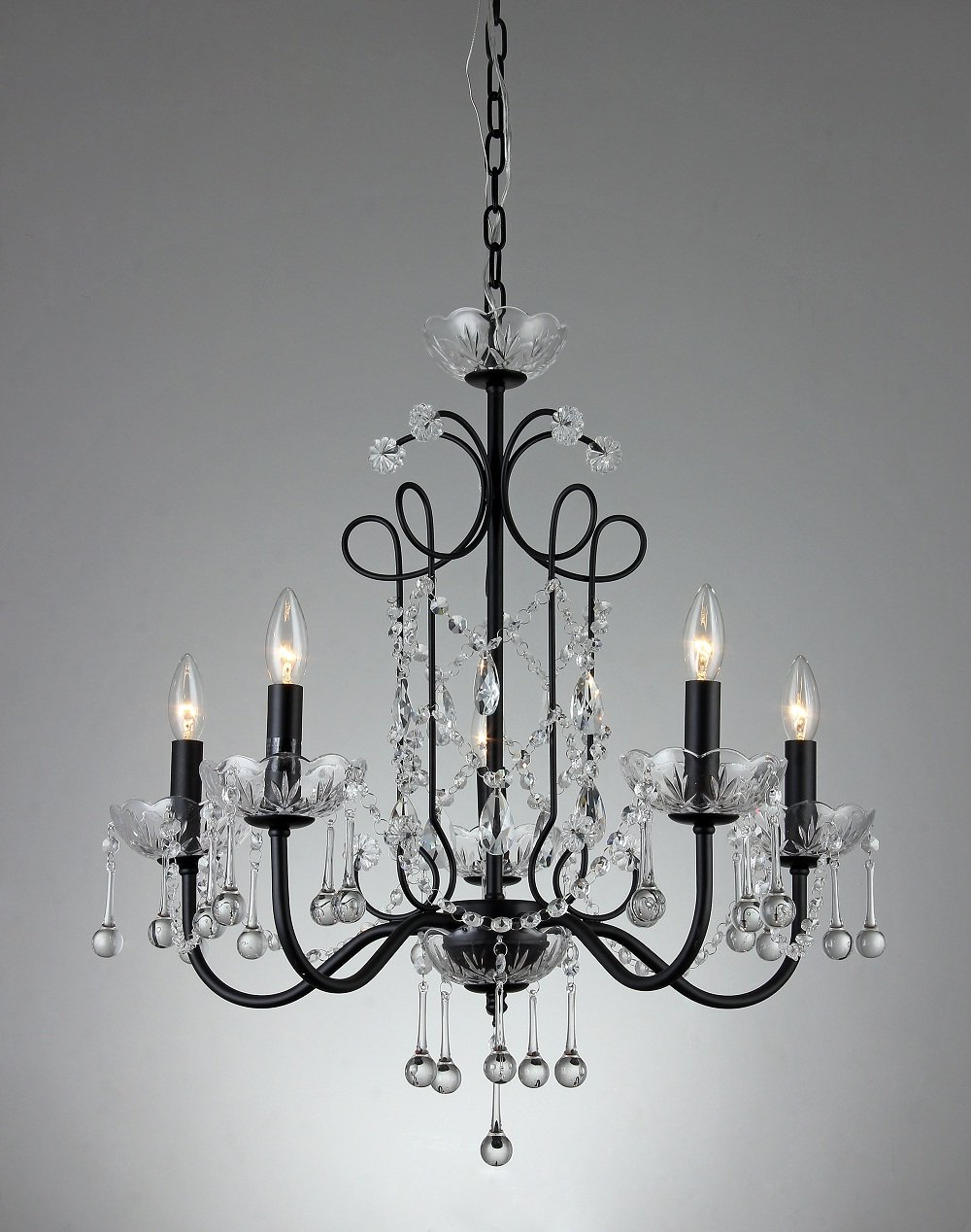 Newest Bunceton 5 Light Candle Style Chandelier Regarding Shaylee 5 Light Candle Style Chandeliers (Gallery 13 of 20)