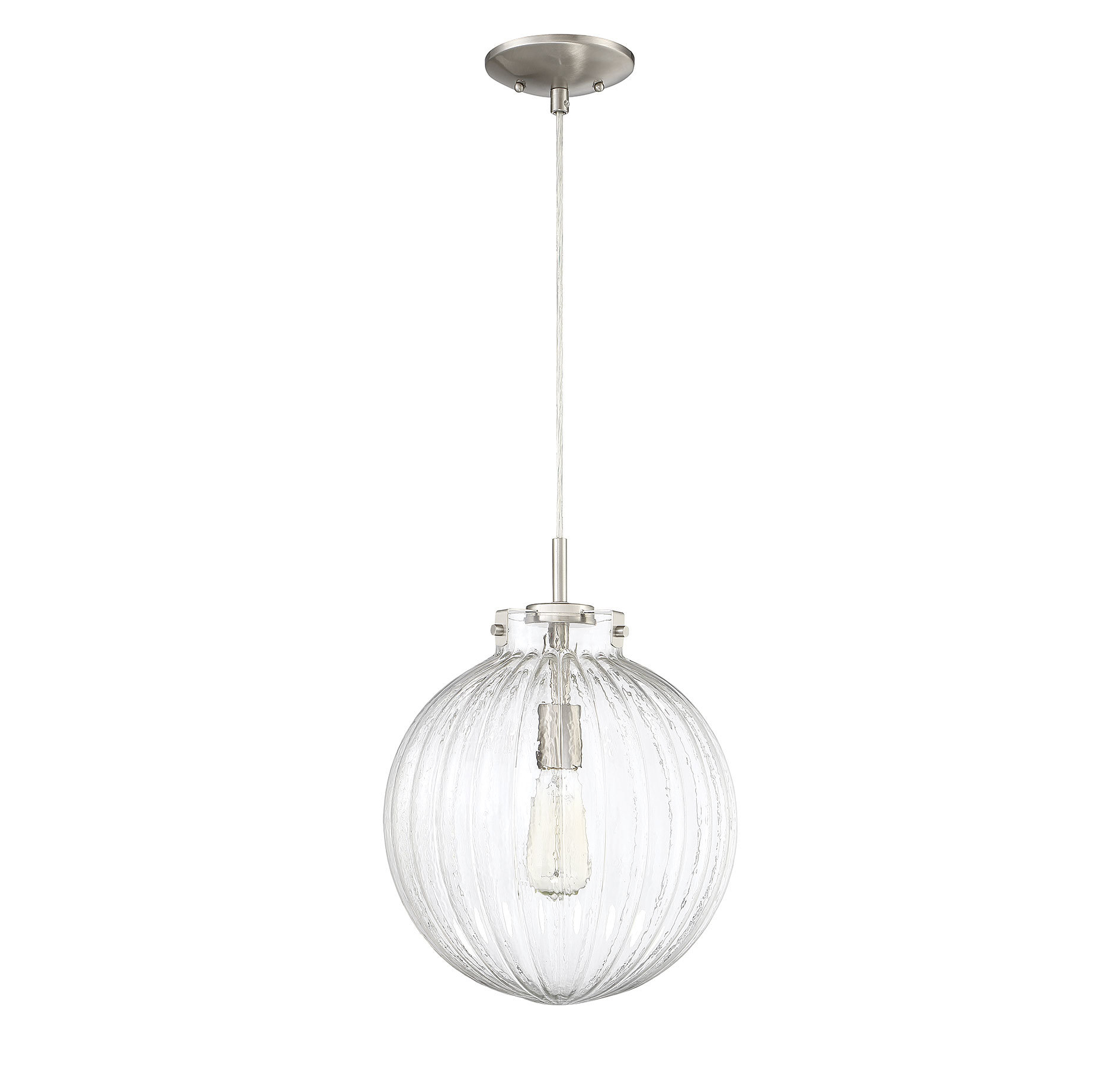 Newest Bundy 1 Light Single Globe Pendants Within Nevels 1 Light Single Globe Pendant (View 16 of 20)