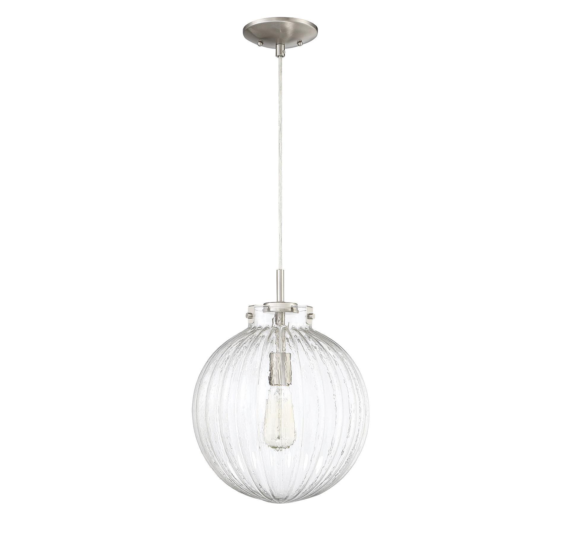 Newest Bundy 1 Light Single Globe Pendants Within Nevels 1 Light Single Globe Pendant (View 20 of 20)