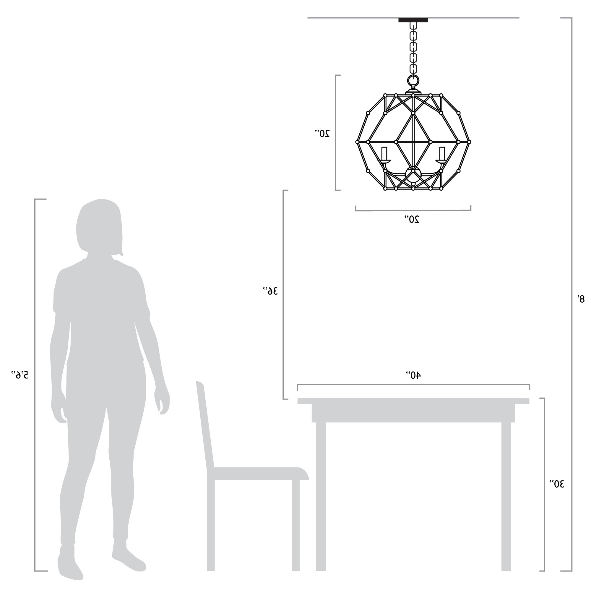 Newest Cavanagh 4 Light Geometric Chandeliers For Mercury Row Cavanagh 4 Light Geometric Chandelier (View 18 of 20)