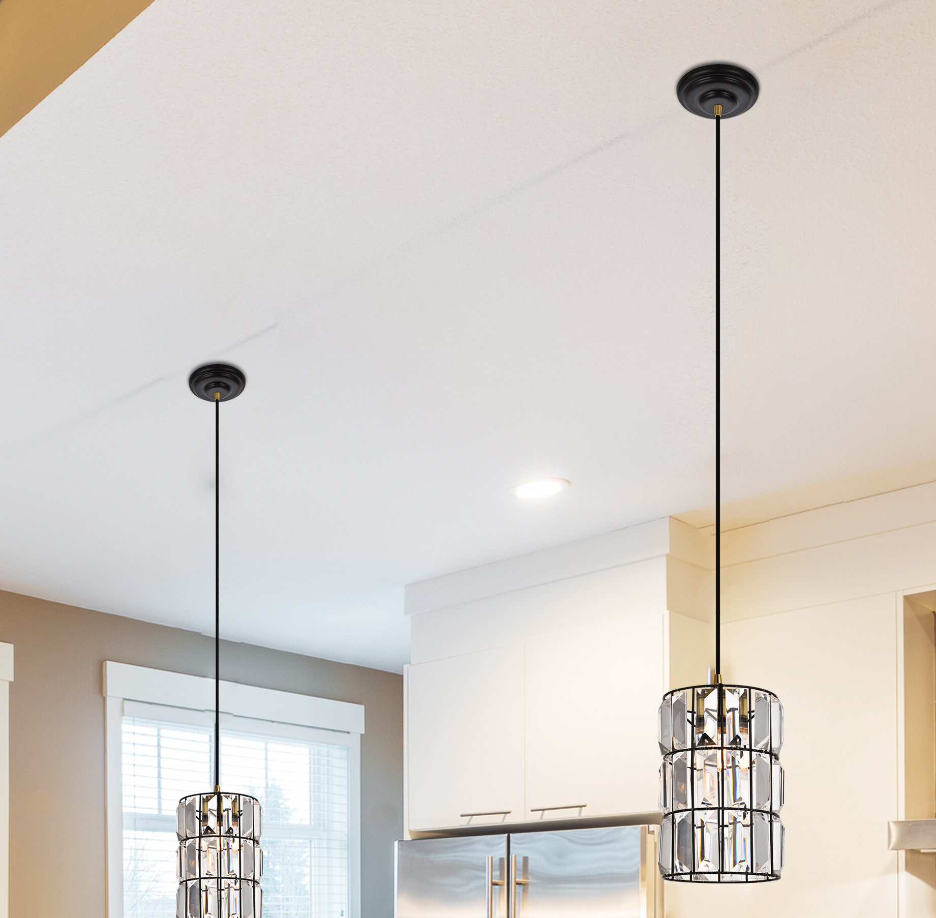 Newest Colston 1 Light Single Cylinder Pendant With Fennia 1 Light Single Cylinder Pendants (View 13 of 20)