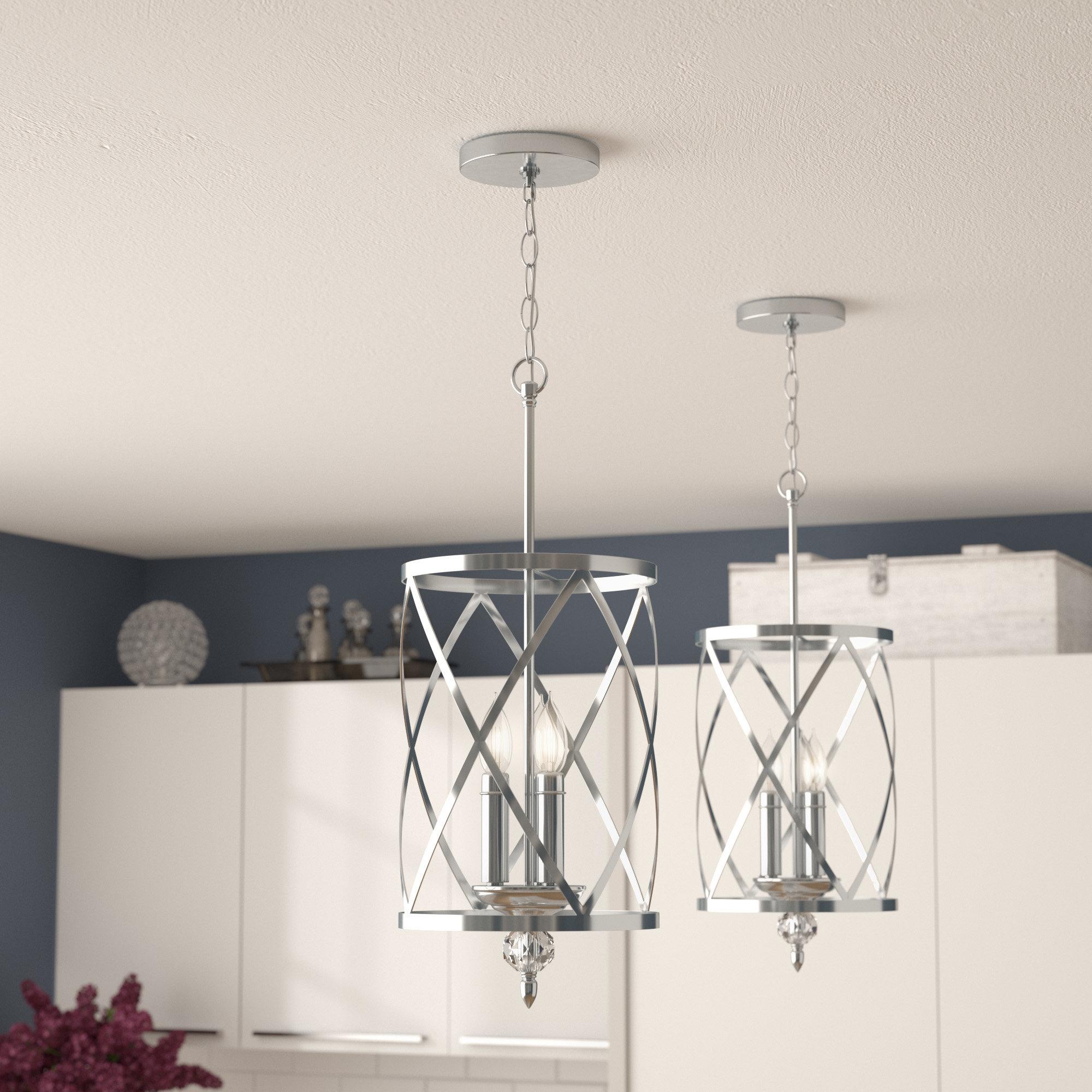 Newest Dirksen 3 Light Single Cylinder Chandeliers In Dirksen 3 Light Lantern Pendant (View 12 of 20)