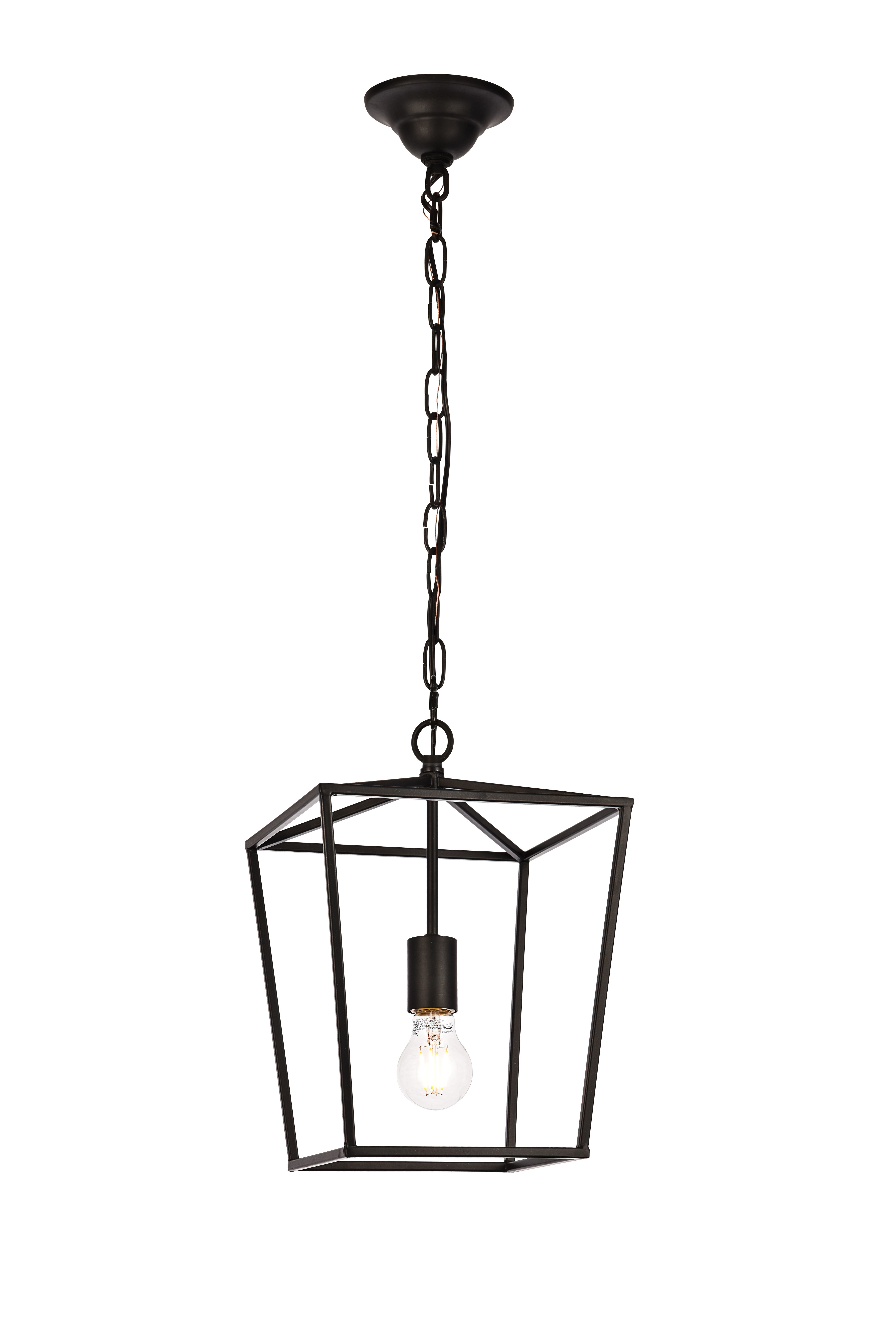 Newest Finnick 1 Light Geometric Pendant Inside Finnick 3 Light Lantern Pendants (View 18 of 20)