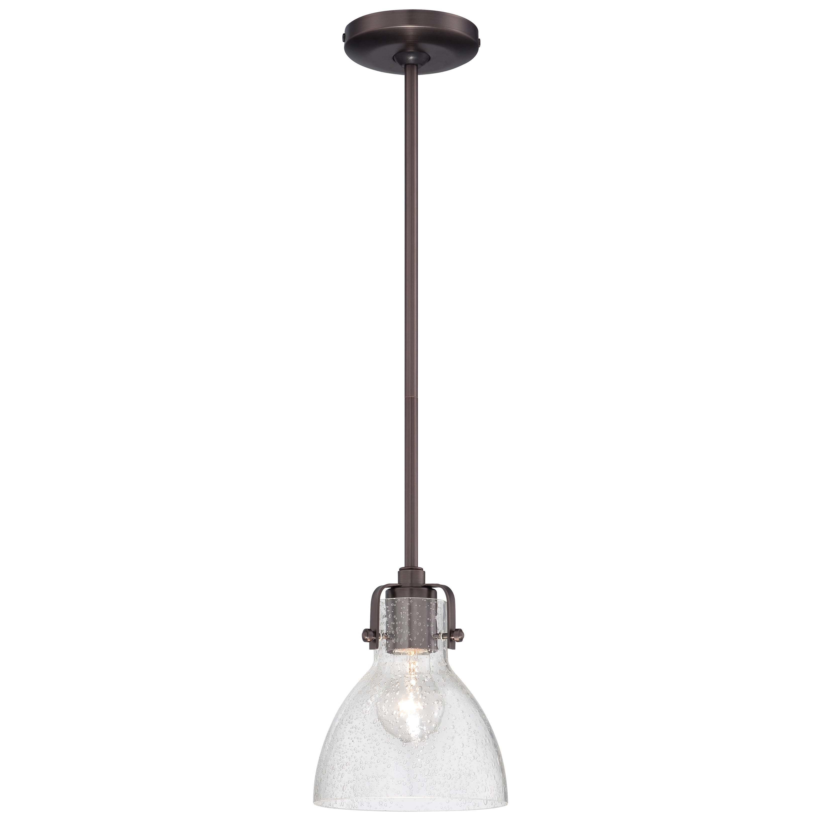 Newest Houon 1 Light Cone Bell Pendants Inside Goldie 1 Light Single Bell Pendant (Gallery 5 of 20)