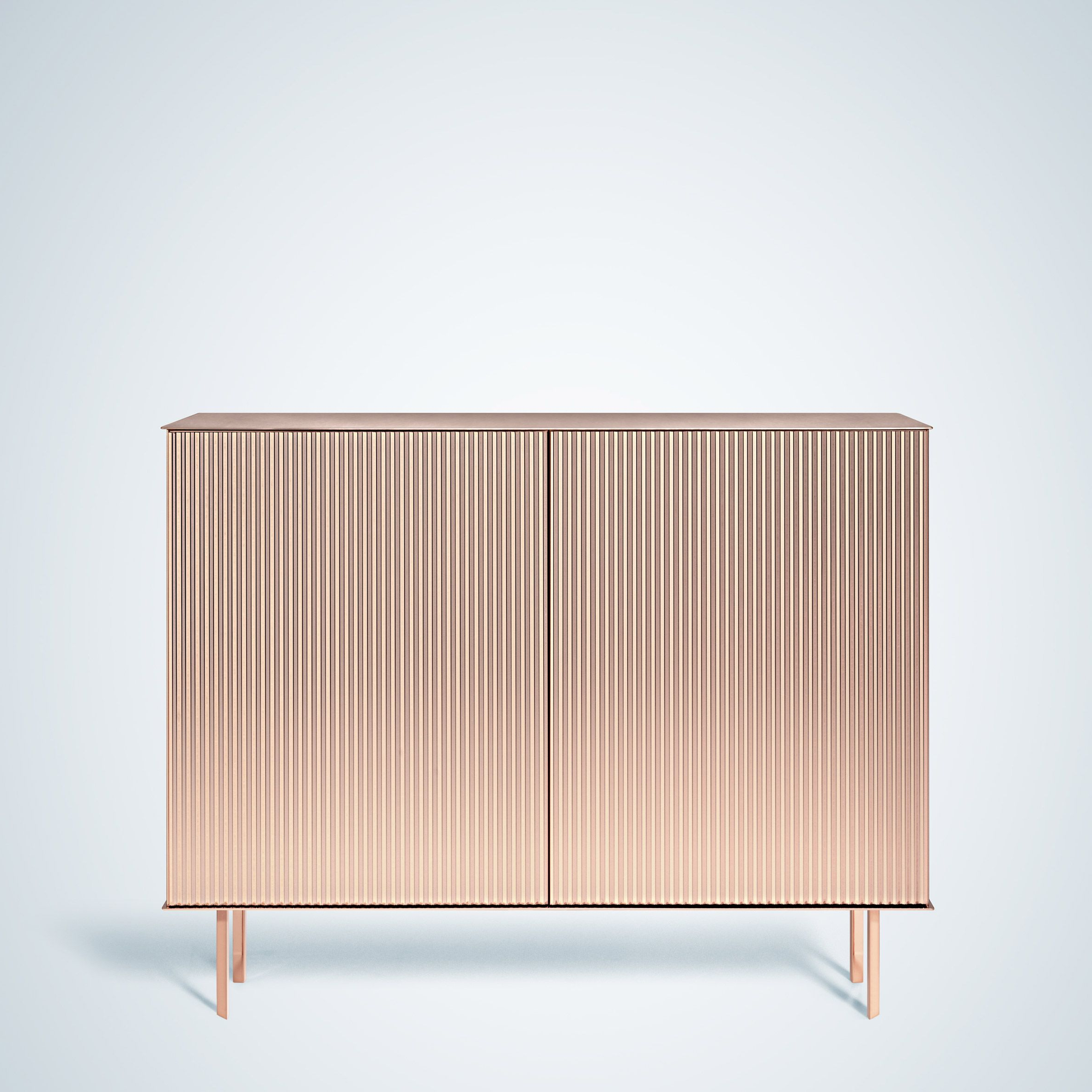 Newest Italian Metal Brand De Castelli Worked With Seven Female Pertaining To Castelli Sideboards (View 16 of 20)