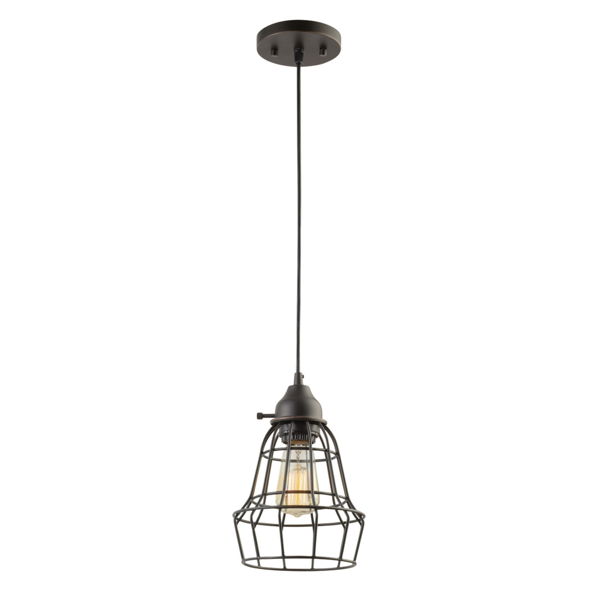 Newest Kathi 1 Light Lantern Pendant With Barrons 1 Light Single Cylinder Pendants (View 9 of 20)