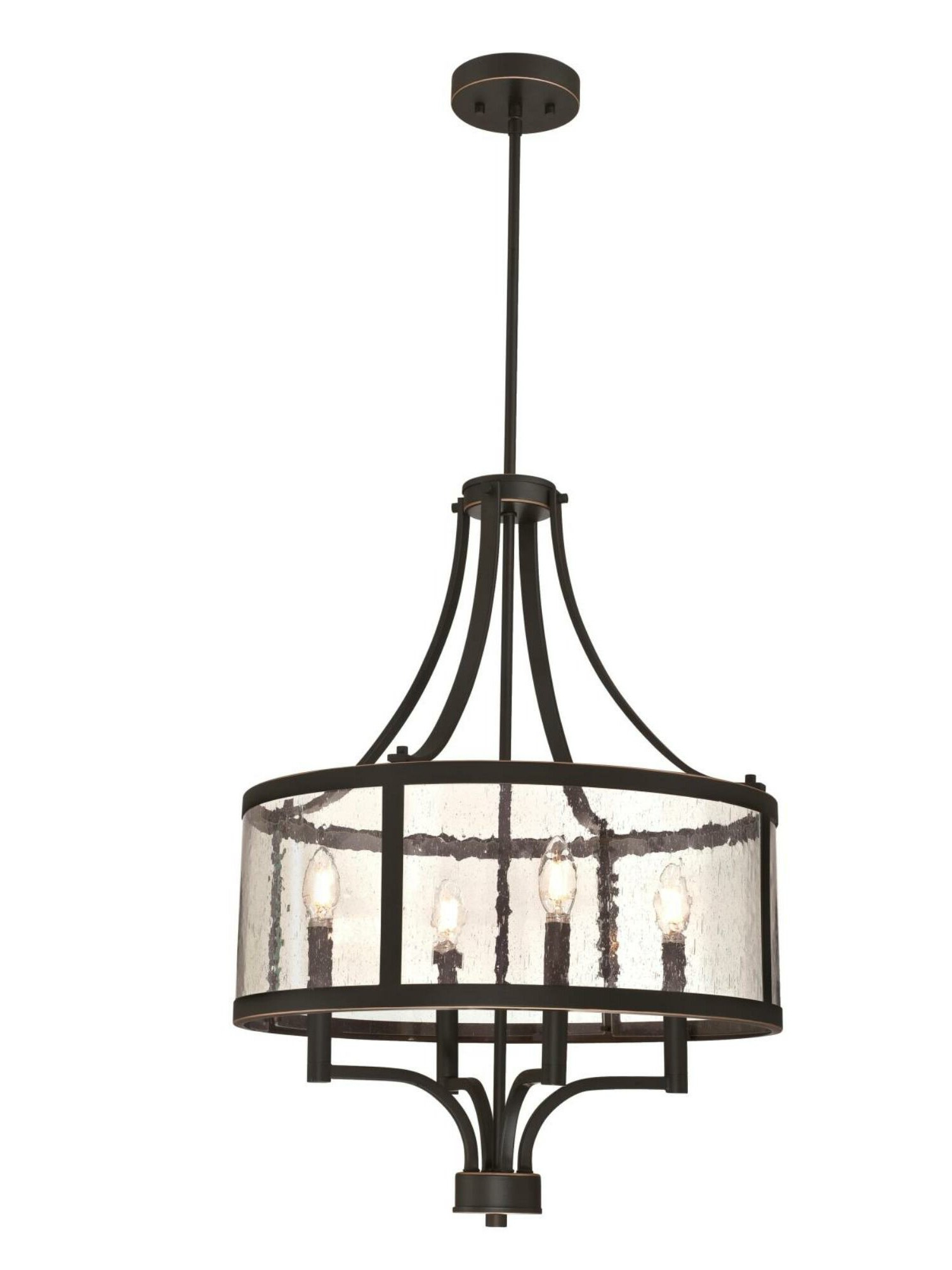 Newest Lindsey 4 Light Drum Chandeliers Intended For Tomlinson 4 Light Drum Chandelier (View 15 of 20)