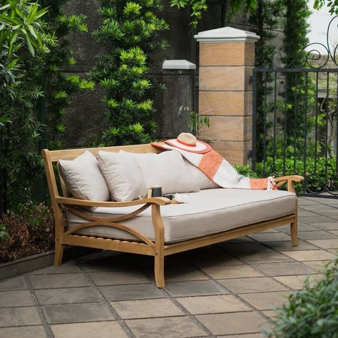 Newest List Of Pinterest Patio Daybeds Images & Patio Daybeds Pictures In Keiran Patio Daybeds With Cushions (View 15 of 20)