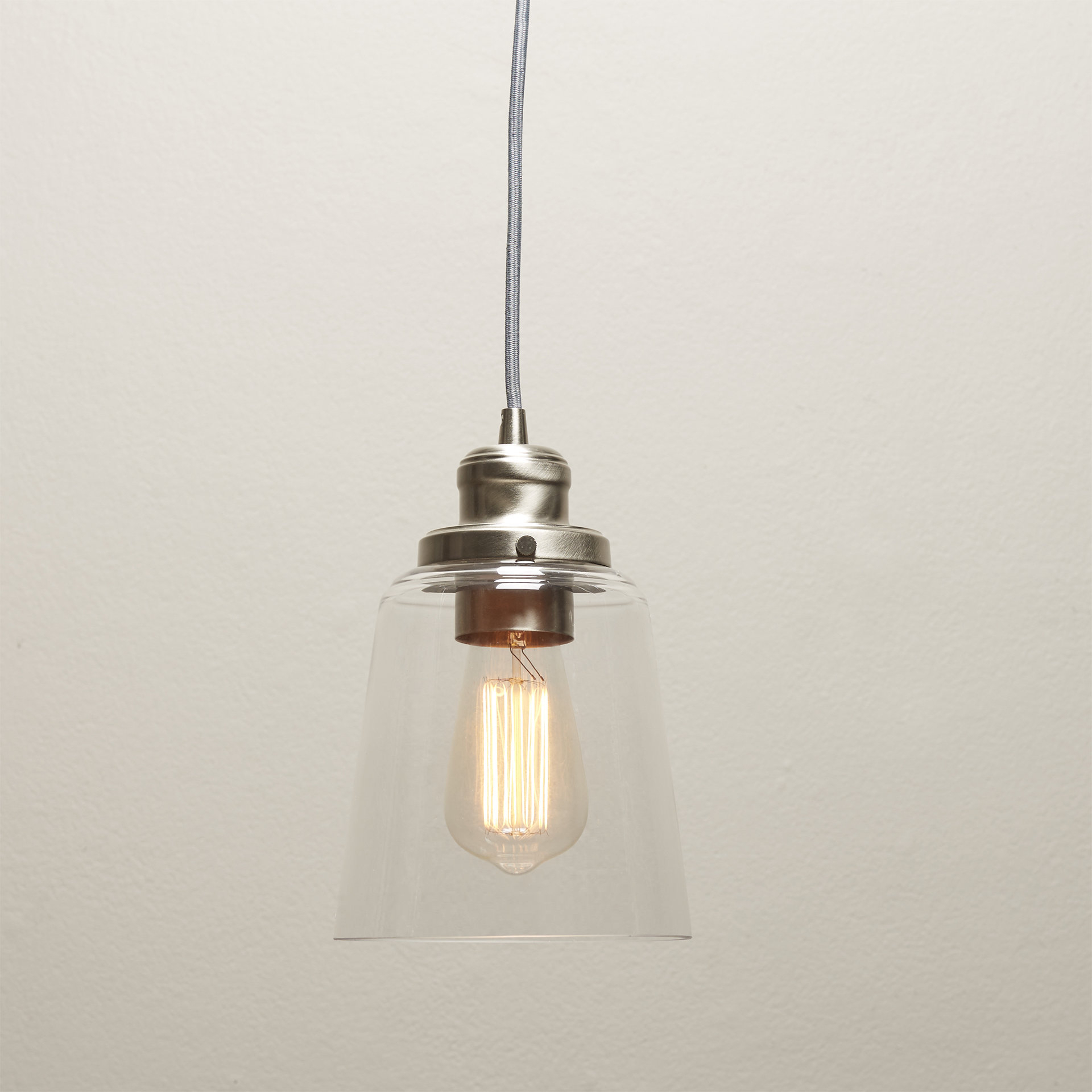 Newest Moyer 1 Light Single Cylinder Pendants Inside 1 Light Single Bell Pendant (View 13 of 20)