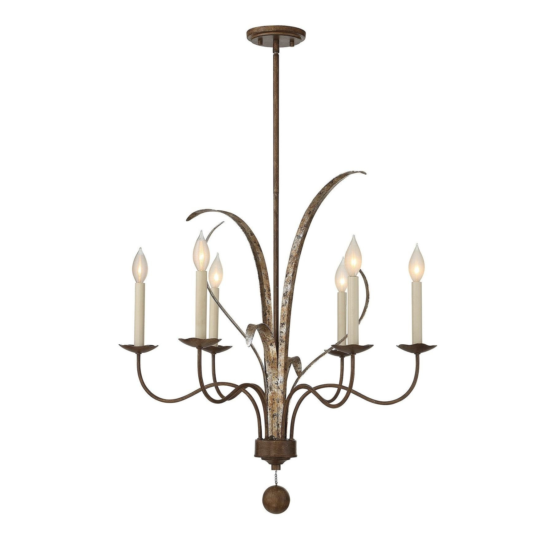 Newest Perseus 6 Light Candle Style Chandeliers Inside Savoy House Mandolin Fiesta Bronze 6 Light Chandelier (Metal (View 16 of 20)