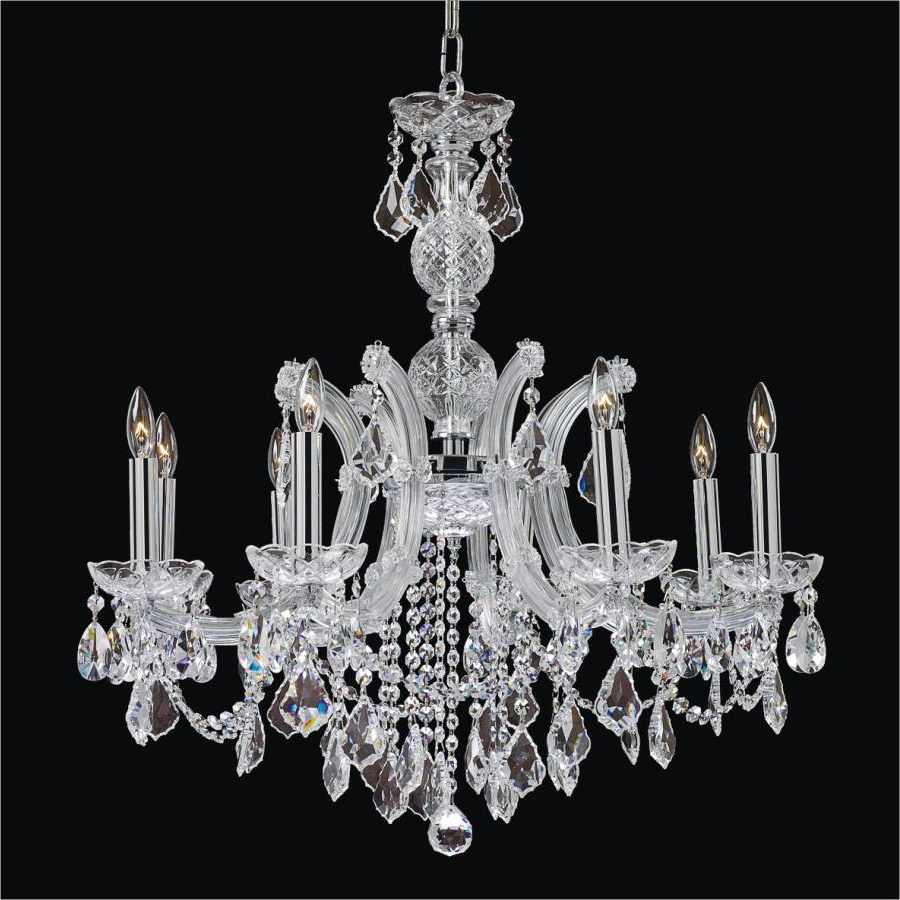 Newest Thresa 5 Light Shaded Chandeliers For Maria Theresa 561Ld Leaf Prism Hanging Light (Gallery 6 of 20)
