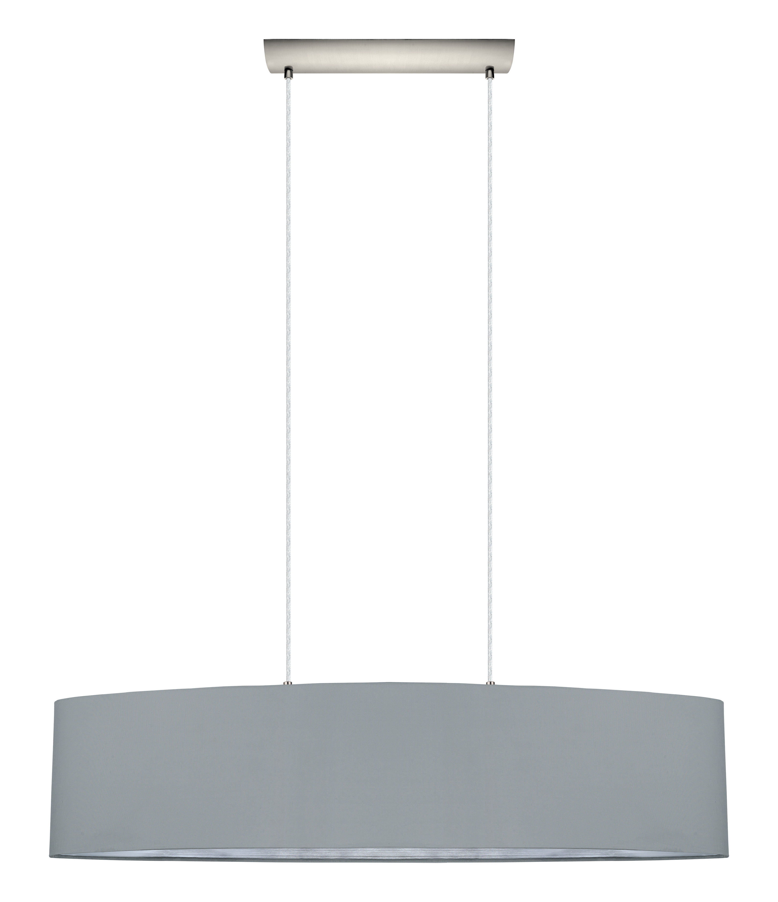 Newville 2 Light Kitchen Island Pendant With Most Up To Date Burslem 3 Light Single Drum Pendants (View 14 of 20)