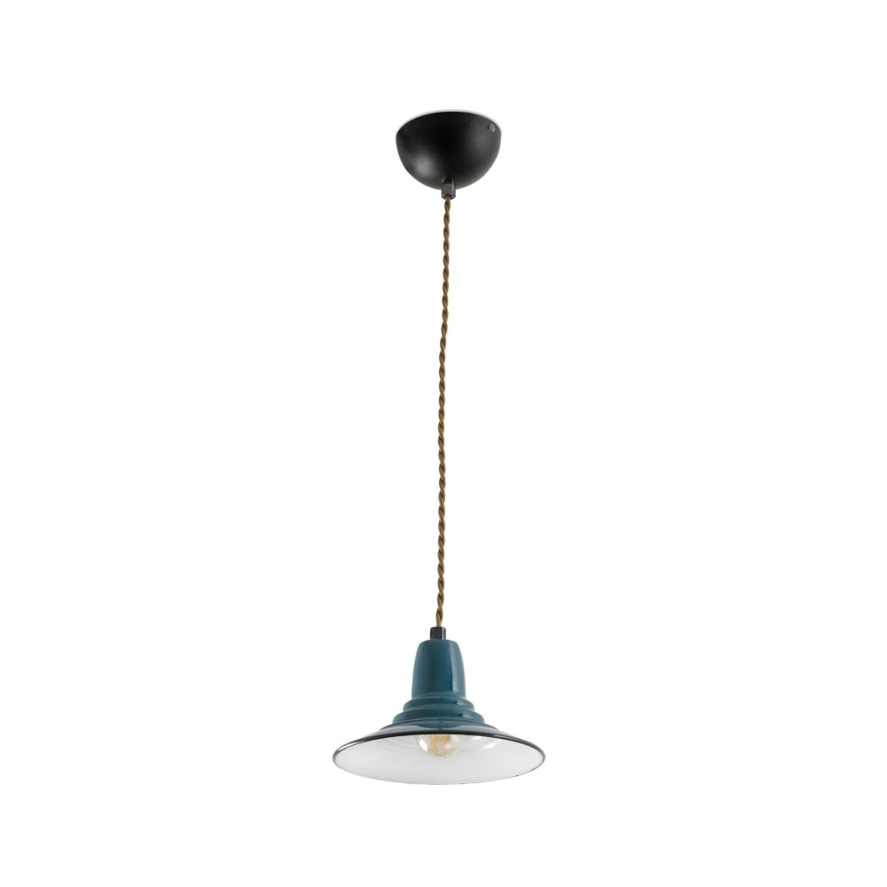 Ninette 1 Light Dome Pendants In Well Known Ninette Blue Pendant Lamp (View 13 of 20)