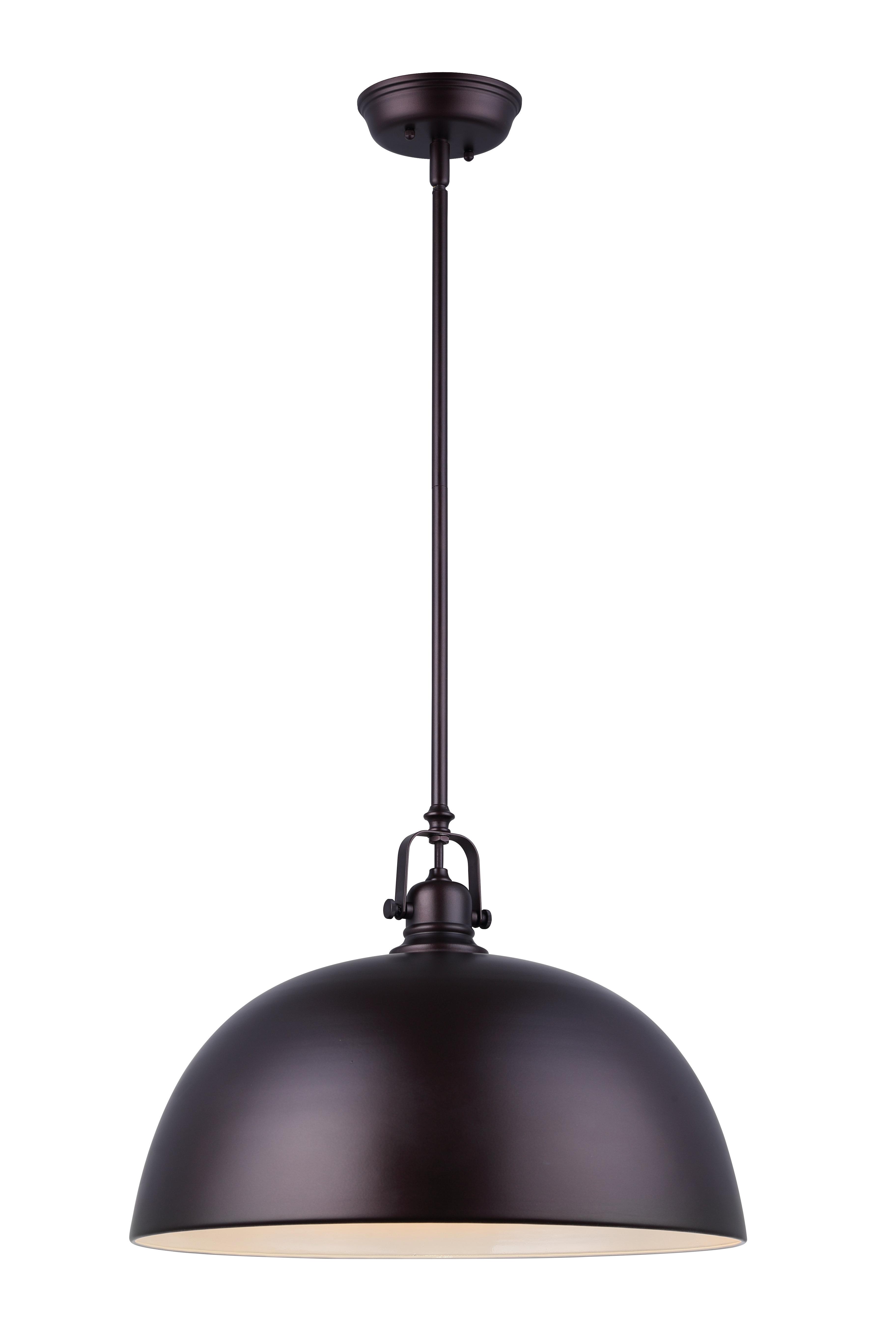 Ninette 1 Light Dome Pendants Inside Popular Southlake 1 Light Bowl Pendant (View 14 of 20)