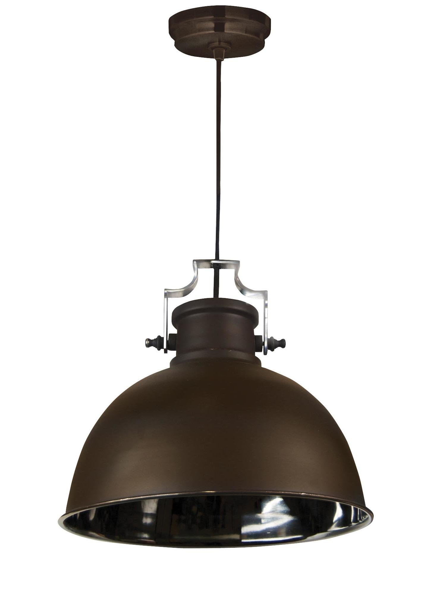 Ninette 1 Light Dome Pendants Pertaining To 2019 Shaeffer 1 Light Dome Pendant (Gallery 5 of 20)