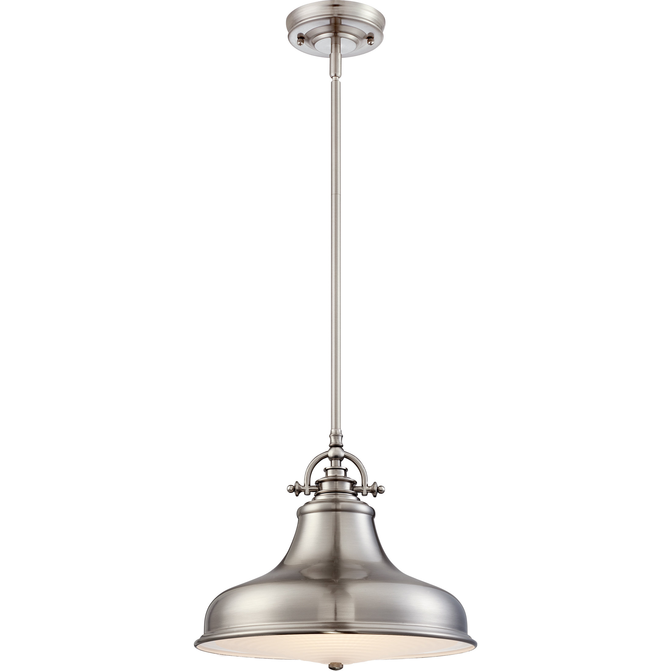 Ninette 1 Light Dome Pendants Pertaining To 2020 Mueller 1 Light Single Dome Pendant (Gallery 19 of 20)