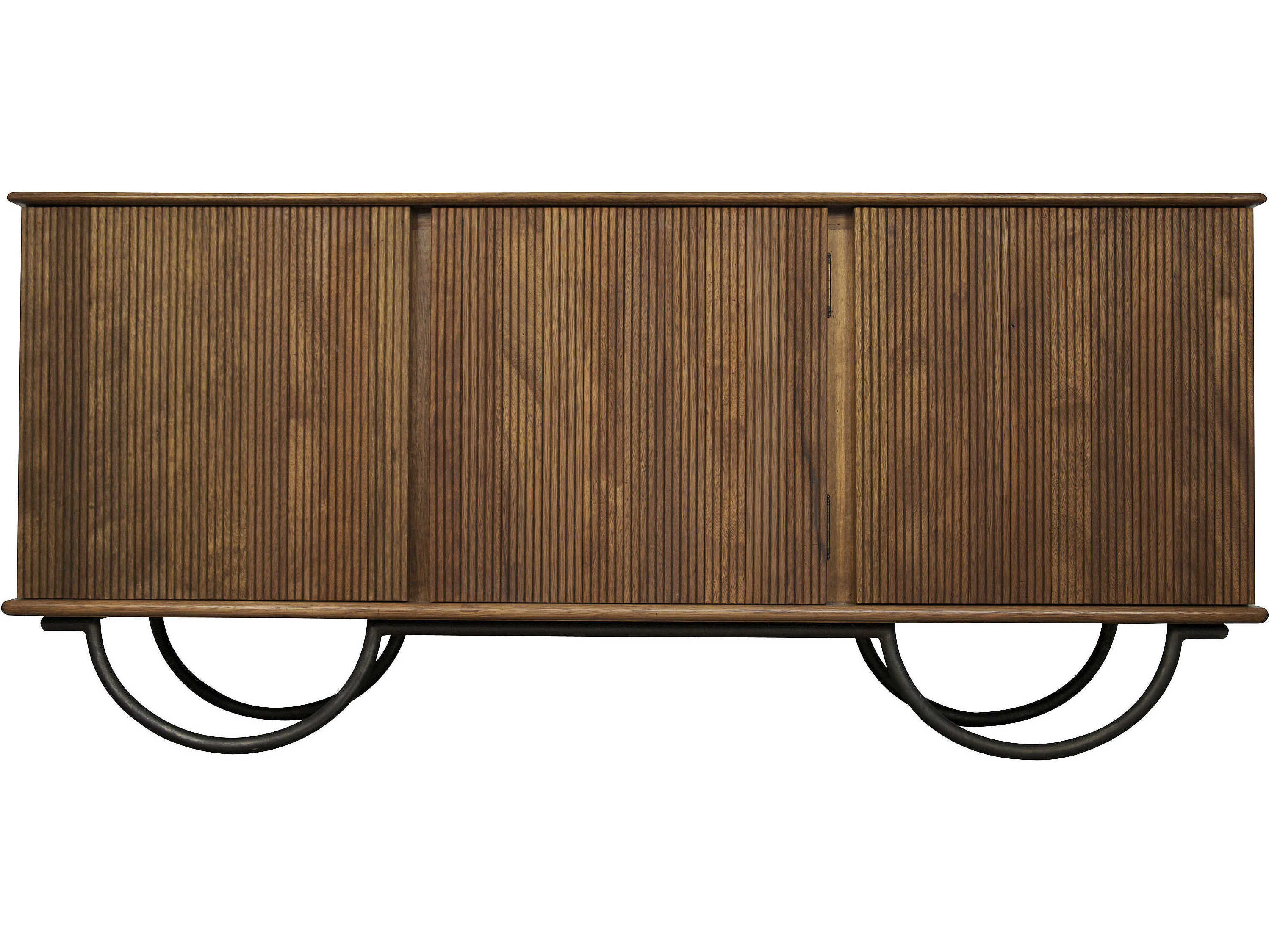 Noir Furniture Alain Dark Walnut 73.5'' X 21.5'' Sideboard Intended For Preferred Melange Brockton Sideboards (Gallery 19 of 20)