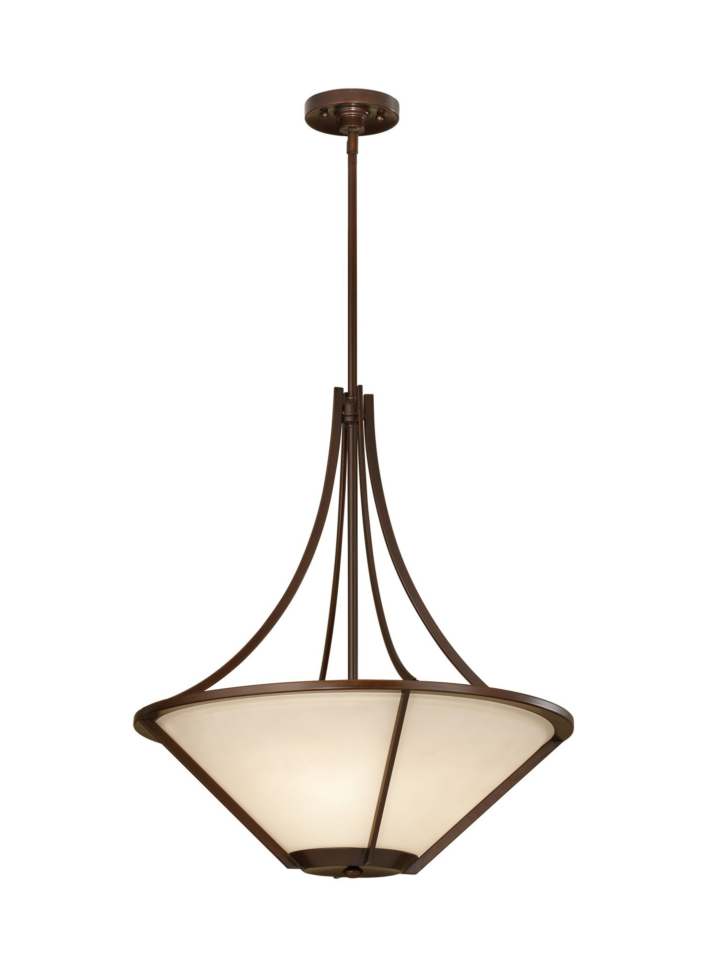 "Nolan 1 Light Lantern Chandeliers Within Fashionable 100W Nolan 21"" Heritage Bronze Cream Etched A 19 3 Light Uplight Chandelier (View 16 of 20)"