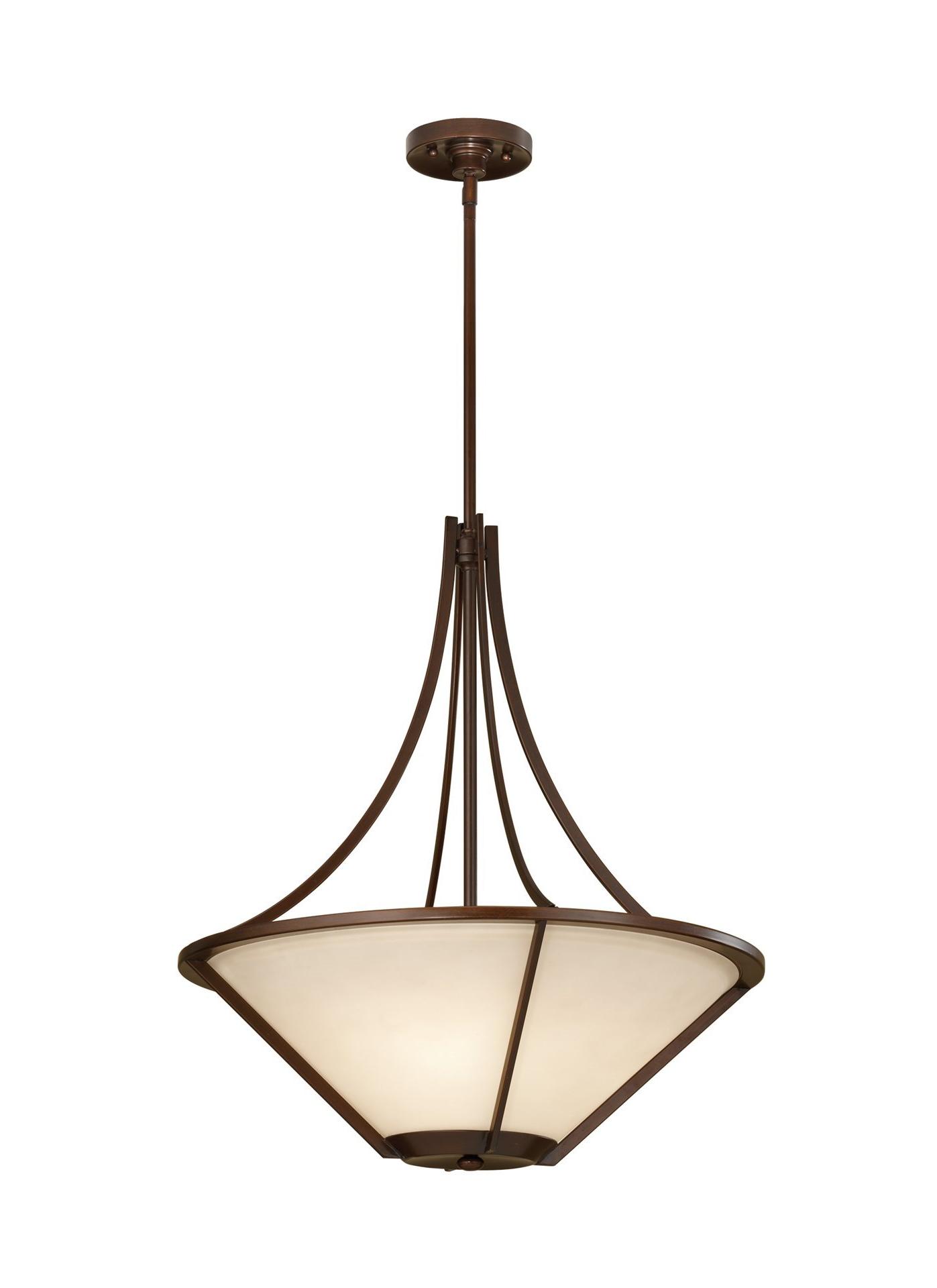 "Nolan 1 Light Lantern Chandeliers Within Fashionable 100W Nolan 21"" Heritage Bronze Cream Etched A 19 3 Light Uplight Chandelier (View 16 of 20)"