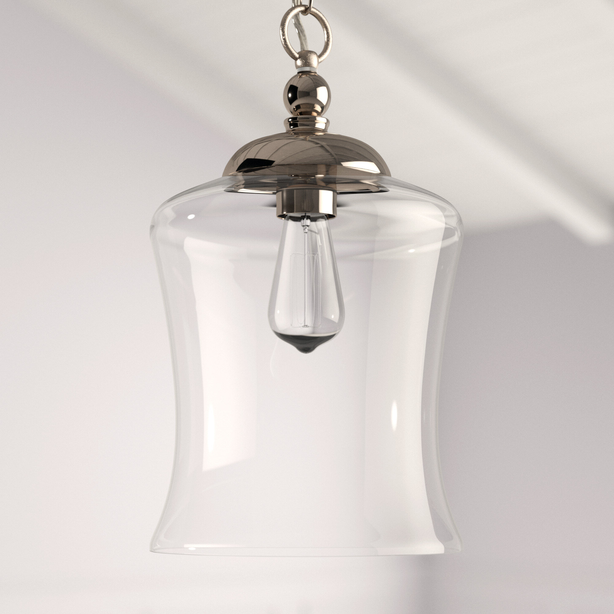 Nolan 1 Light Single Cylinder Pendants In Well Known Wentzville 1 Light Single Bell Pendant (Gallery 20 of 20)