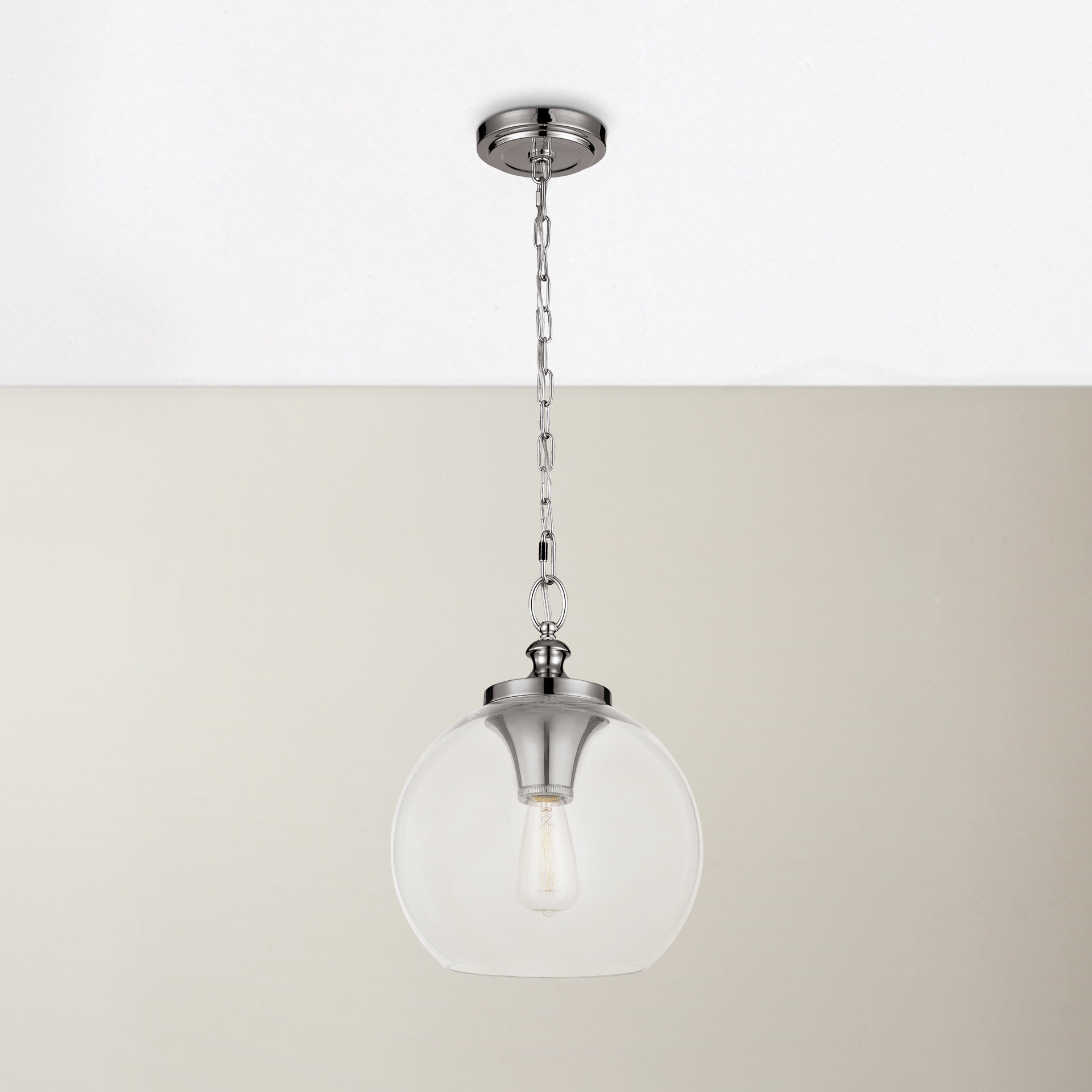 Nolan 1 Light Single Cylinder Pendants In Well Liked Asellus 1 Light Single Globe Pendant (View 10 of 20)