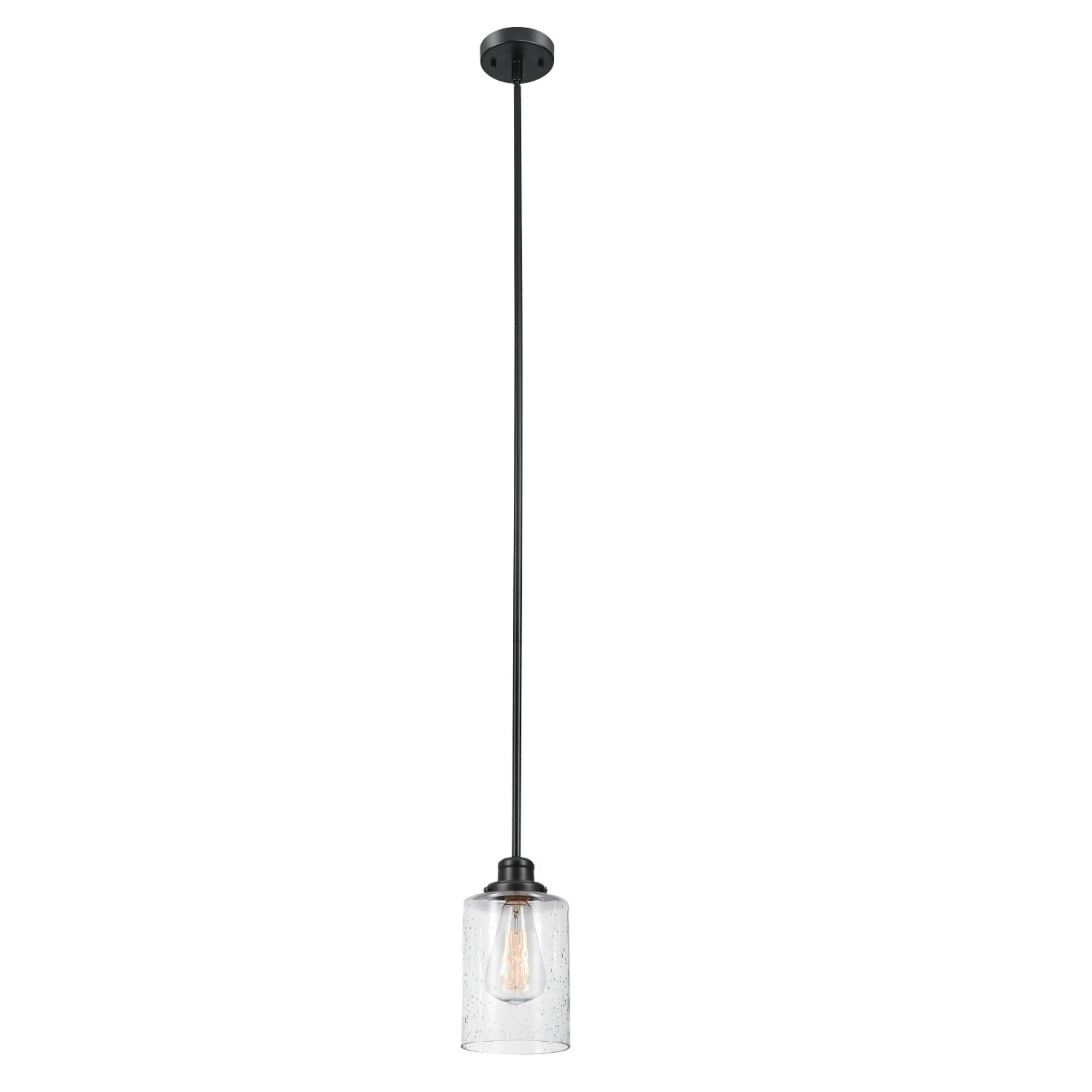 Nolan 1 Light Single Cylinder Pendants Pertaining To Most Up To Date Vivian 1 Light Single Cylinder Pendant (View 13 of 20)