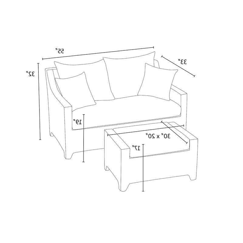 Northridge Loveseat With Cushions Regarding Well Known Northridge Loveseats With Cushions (View 8 of 20)