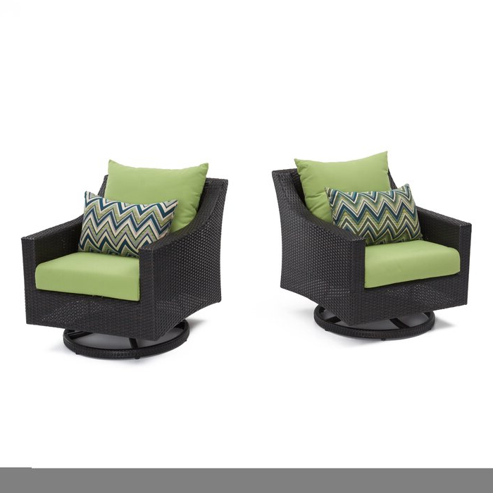 Northridge Loveseats With Cushions Intended For Latest Northridge Swivel 2 Piece Patio Chair With Cushions (View 10 of 20)