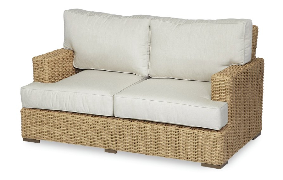 Northridge Loveseats With Cushions Regarding Well Known Leucadia Loveseat With Cushions (View 11 of 20)
