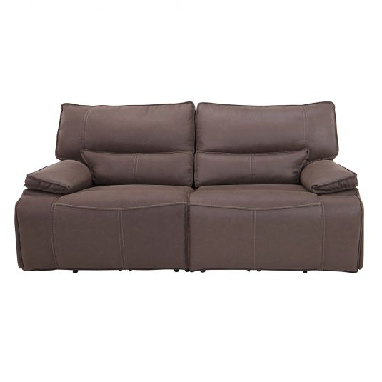 Northridge Loveseats With Cushions With Regard To Fashionable Modern Loveseat Recliners – Leather & Fabric (View 14 of 20)