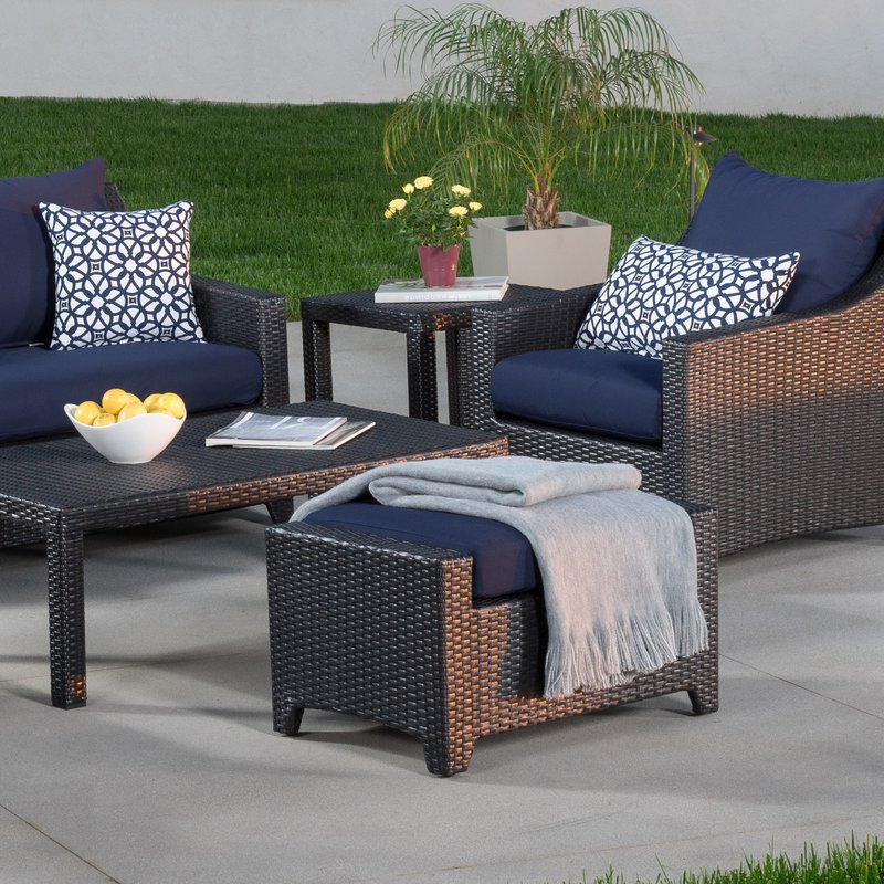 Northridge Patio Sofas With Sunbrella Cushions Inside Most Current Northridge 6 Piece Sofa Set With Cushions (View 7 of 20)