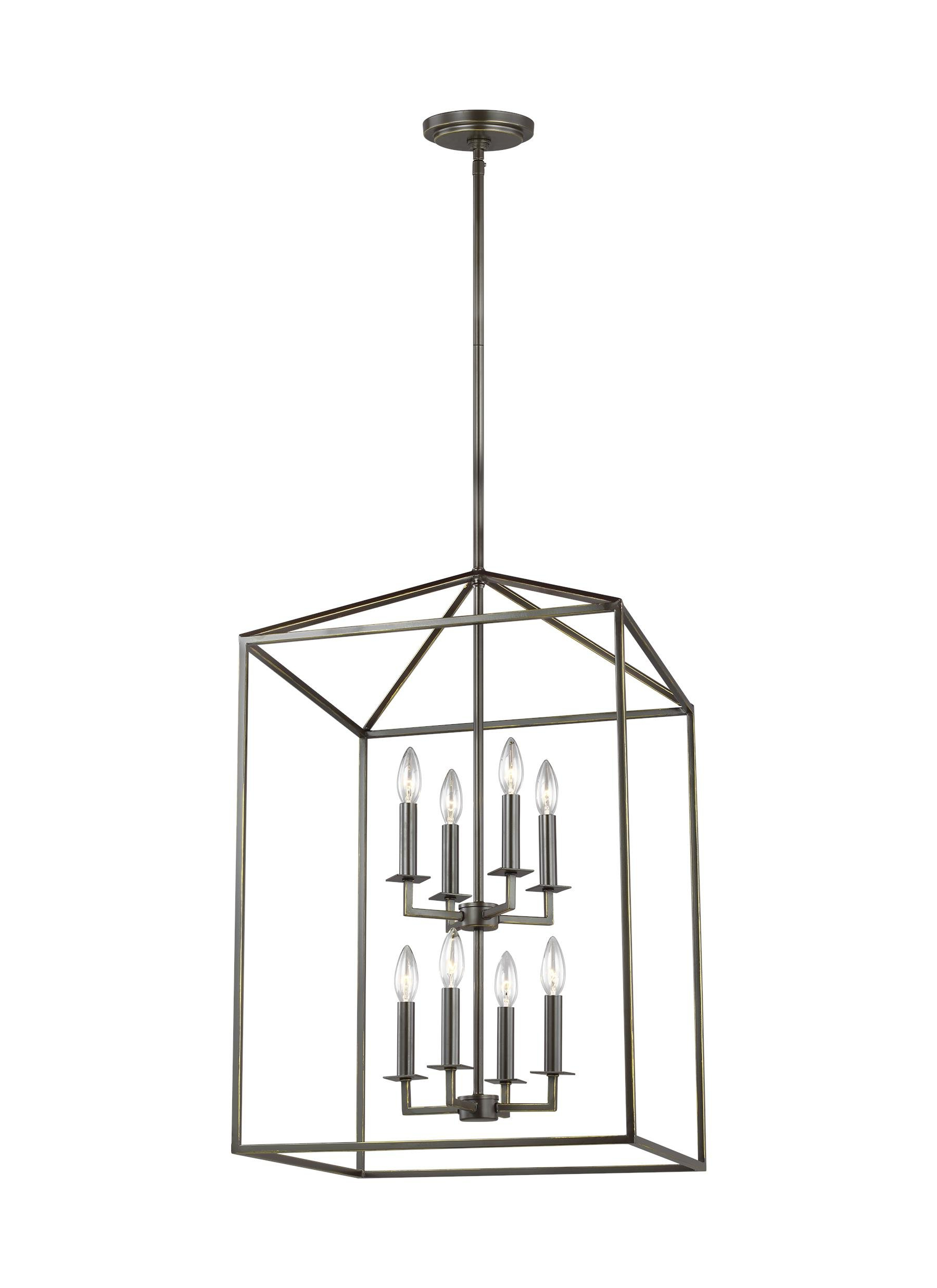 Odie 8 Light Square/rectangle Chandelier Intended For Favorite Odie 4 Light Lantern Square Pendants (Gallery 11 of 20)