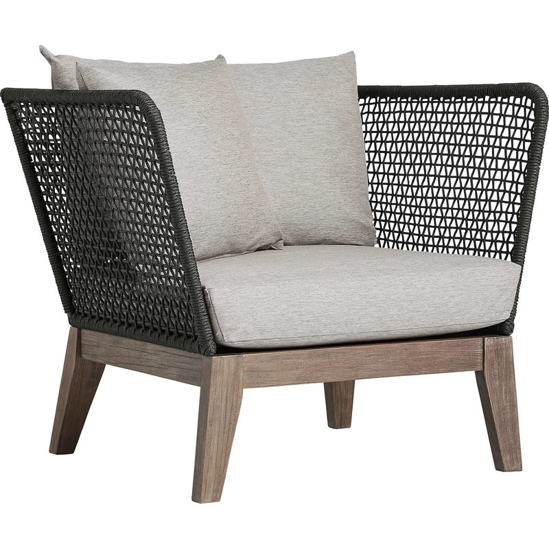 Olympia Patio Chair With Cushions Intended For Favorite Newbury Patio Sofas With Cushions (View 14 of 20)