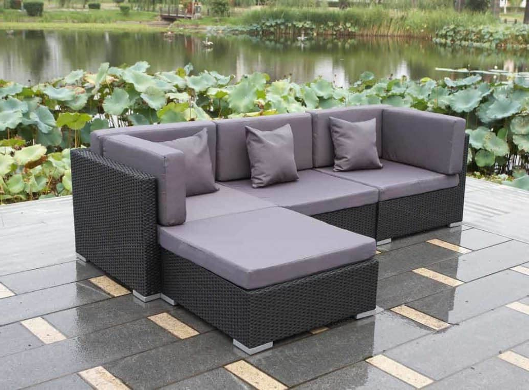 Oreland Patio Sofas With Cushions Inside Well Known Campsite Holidays! – Rattan Cube (View 12 of 20)