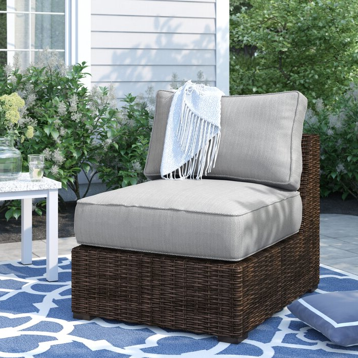 Oreland Patio Sofas With Cushions Regarding Most Recently Released Oreland Patio Chair With Cushions (View 13 of 20)
