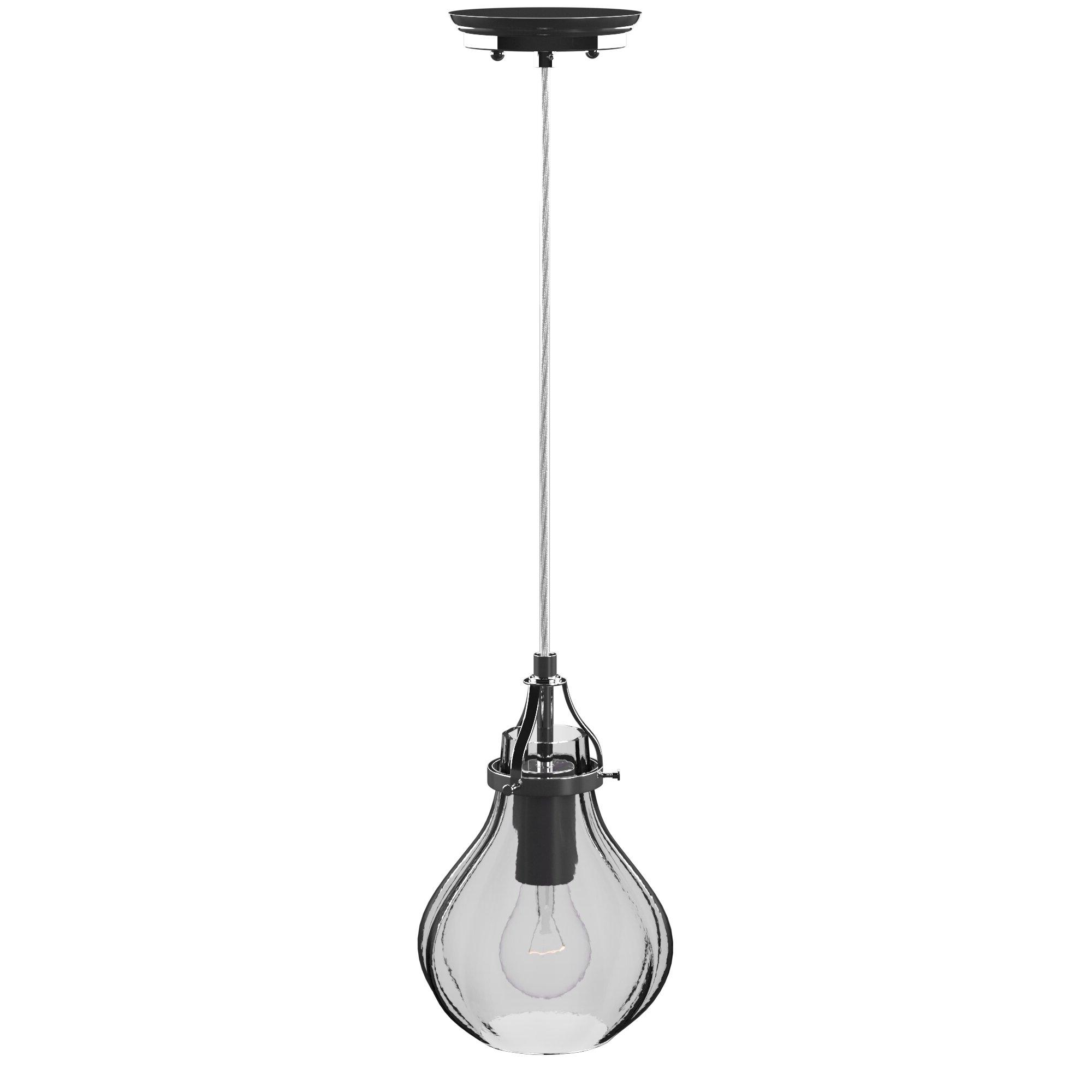Orofino 1 Light Single Teardrop Pendant For Most Current Poynter 1 Light Single Cylinder Pendants (Gallery 9 of 20)