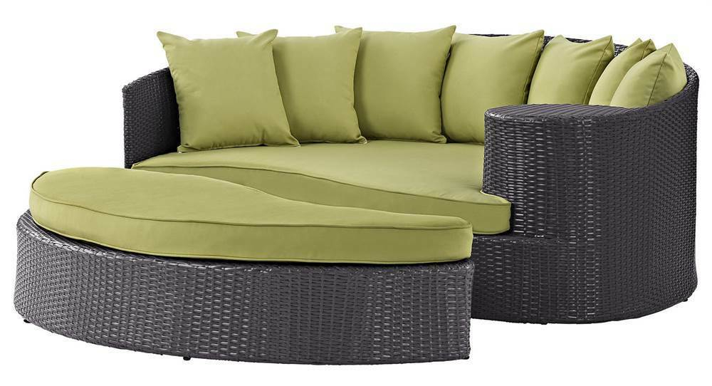 [%Outdoor Daybed In Green [Id 3796344] | Ebay In Recent Keiran Daybeds With Cushions|Keiran Daybeds With Cushions Pertaining To Most Popular Outdoor Daybed In Green [Id 3796344] | Ebay|Most Current Keiran Daybeds With Cushions Inside Outdoor Daybed In Green [Id 3796344] | Ebay|Preferred Outdoor Daybed In Green [Id 3796344] | Ebay For Keiran Daybeds With Cushions%] (View 1 of 20)