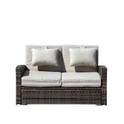 Outdoor Daybeds – Outdoor Lounge Furniture – The Home Depot With Regard To Favorite Harlow Patio Daybeds With Cushions (View 16 of 20)