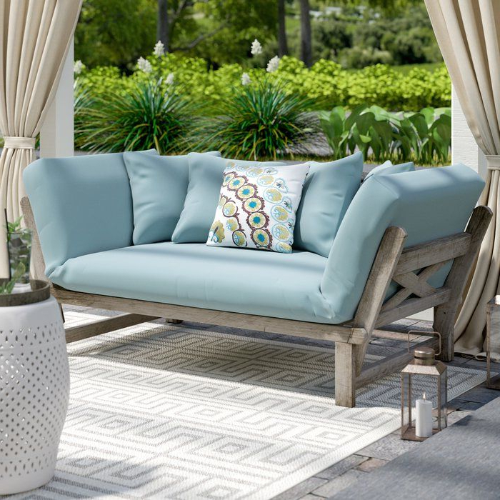 Outdoor Decorating With Englewood Loveseats With Cushions (Gallery 2 of 20)