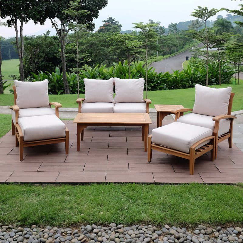 Outside Ideas In Inside Summerton Teak Loveseats With Cushions (View 8 of 20)
