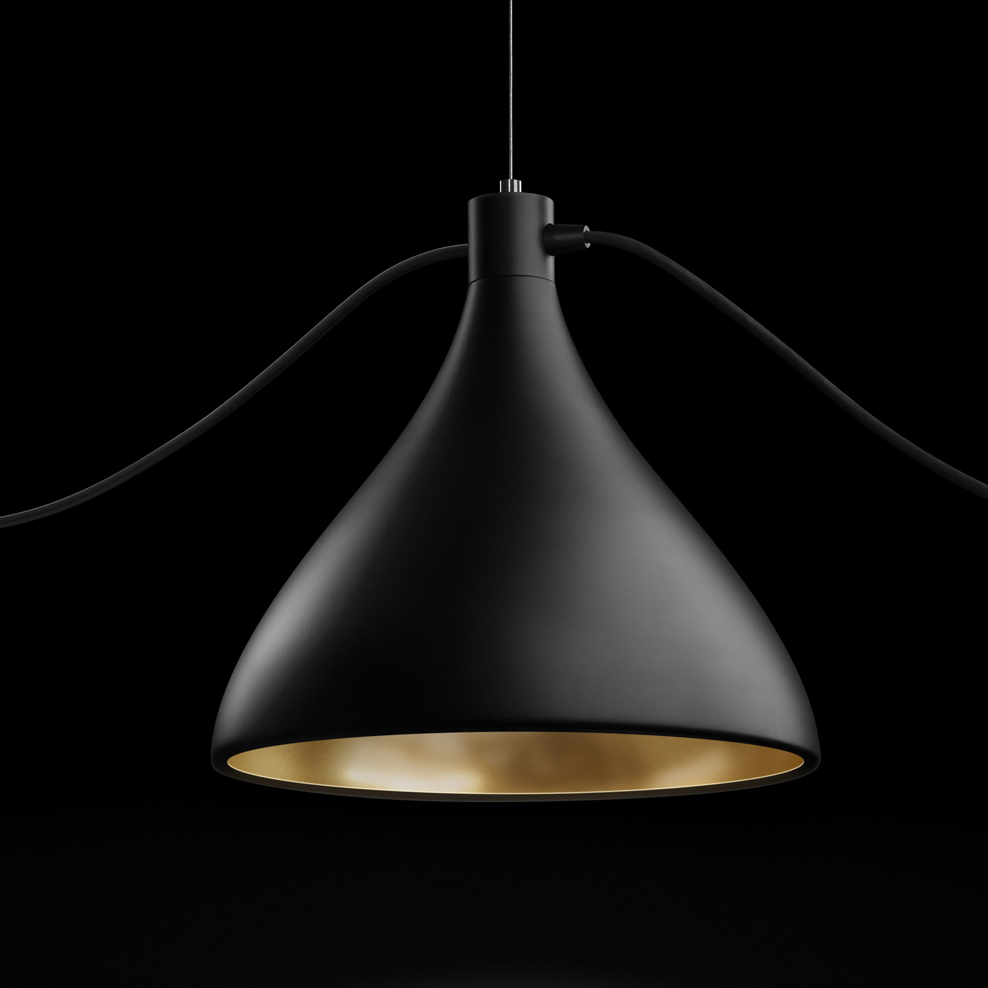Pablo Designs Swell 1 Light Single Bell Pendant & Reviews With Well Known Ryker 1 Light Single Dome Pendants (Gallery 9 of 20)