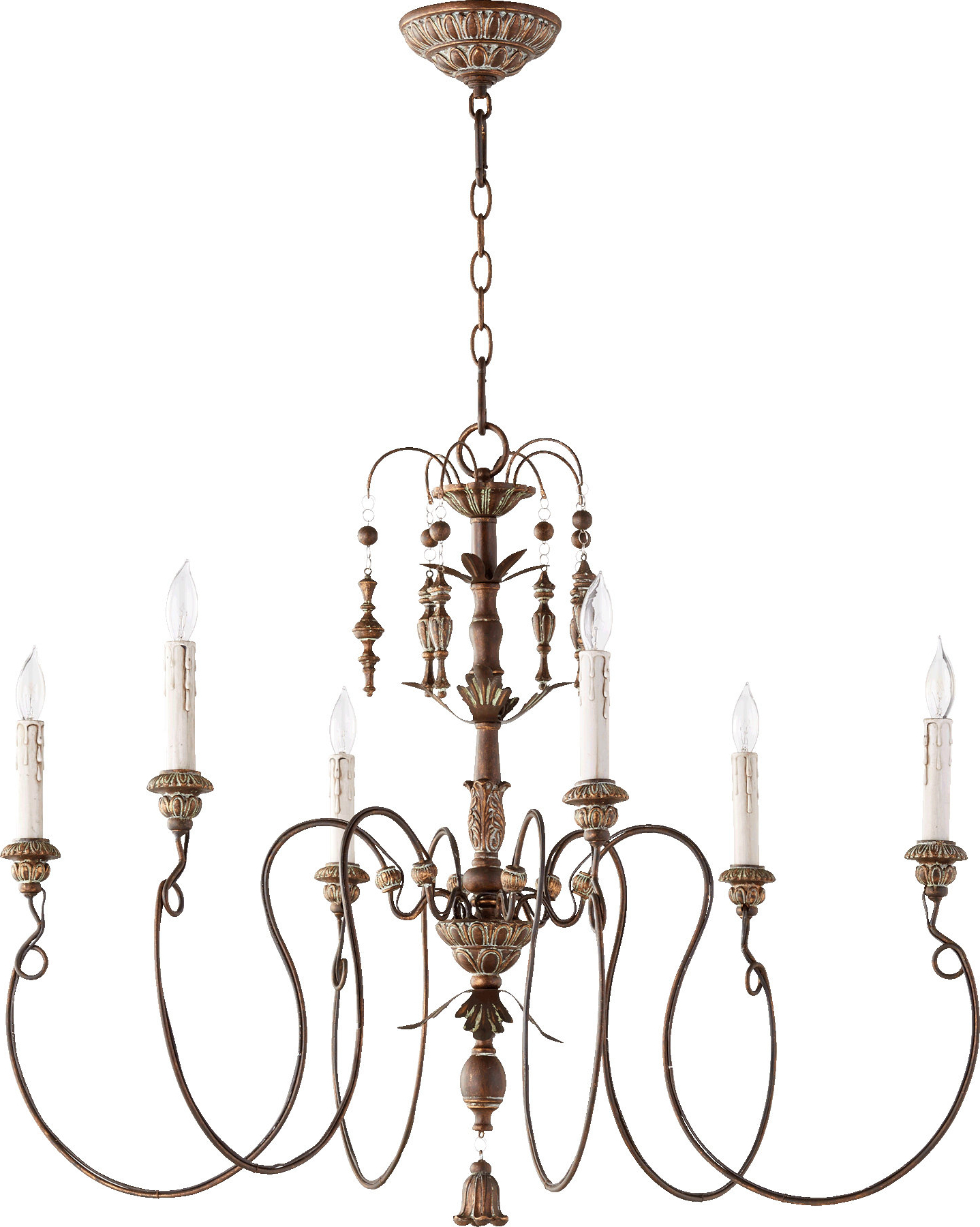 Paladino 6 Light Chandelier Intended For Famous Paladino 6 Light Chandeliers (View 3 of 20)